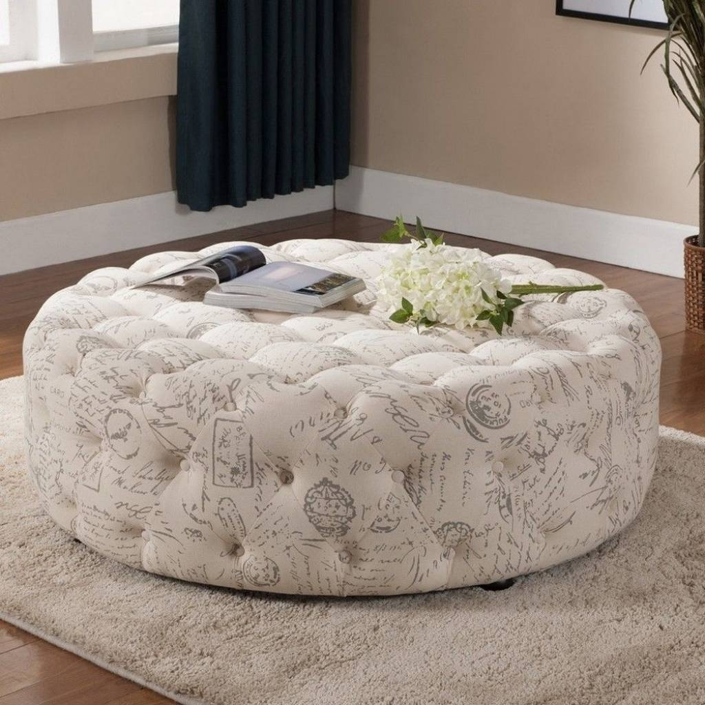 Round Coffee Tables Size For Your Home | Elegant Furniture Design throughout Oversized Round Coffee Tables (Image 30 of 30)