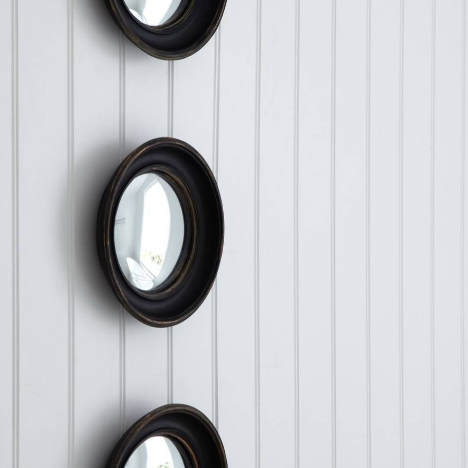 Round Convex Mirrors For Walls | Vanity And Nightstand Decoration throughout Small Round Convex Mirrors (Image 22 of 25)