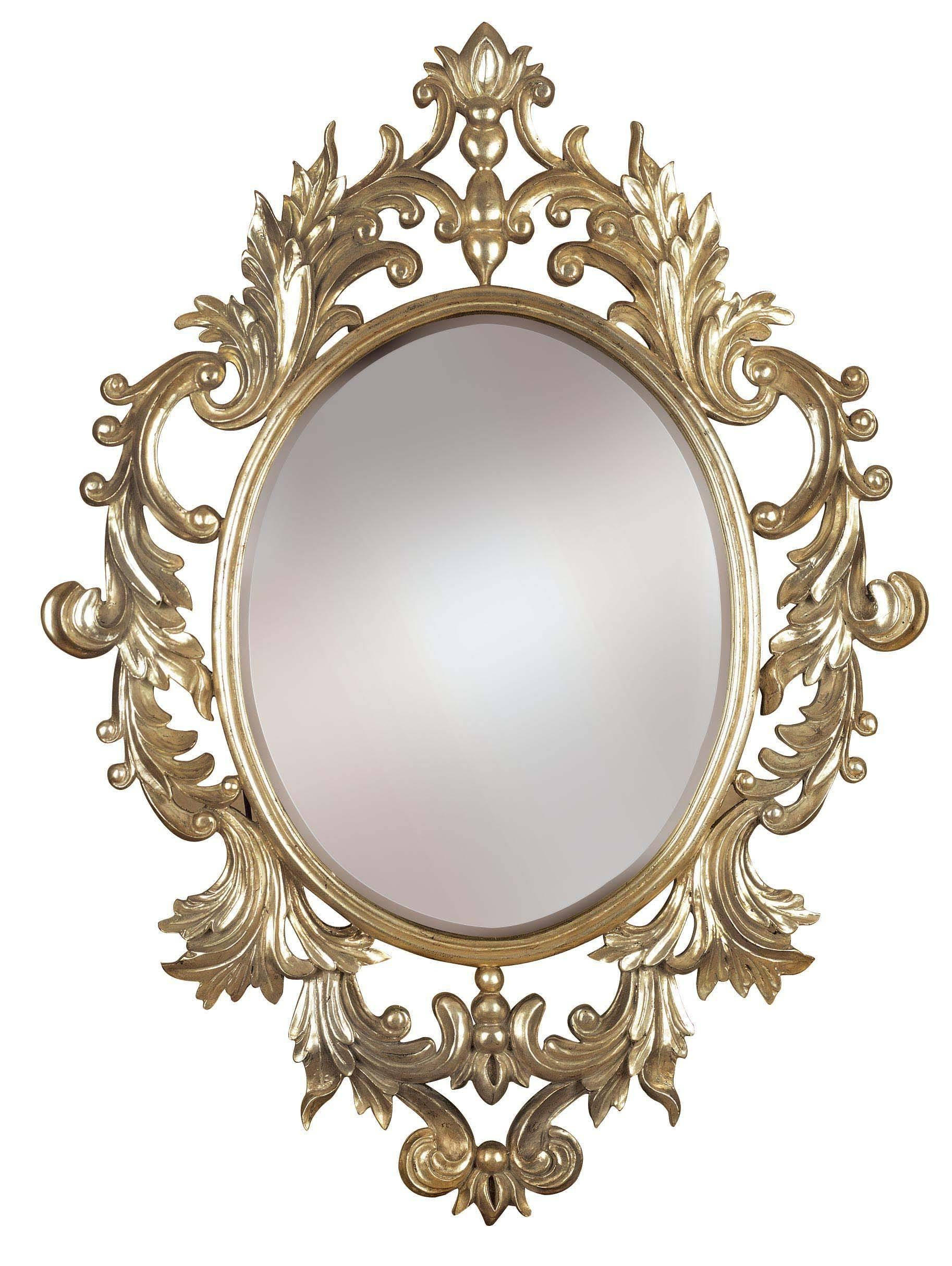 Round Framed Mirror, Oil Rubbed Bronze Framed Wall Mirror Antique within Antique Round Mirrors (Image 20 of 25)