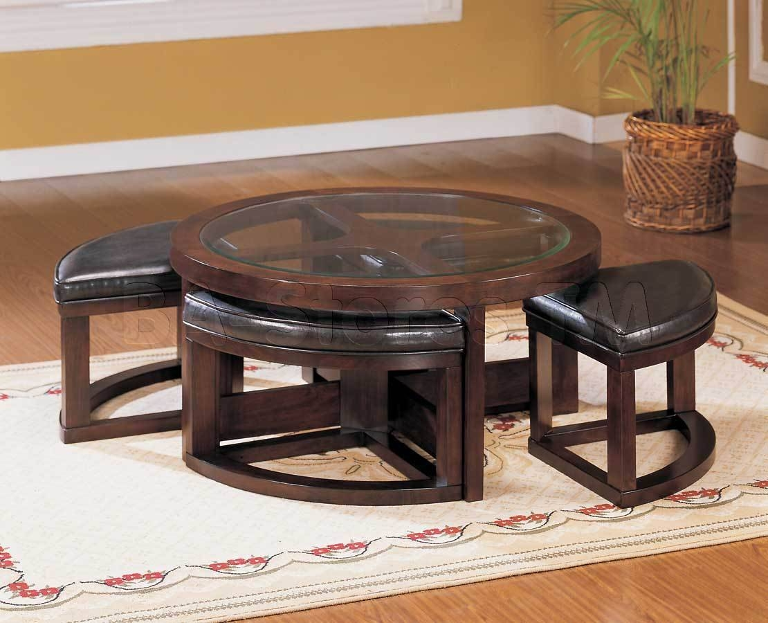 Round Glass Coffee Table Wood : Round Glass Coffee Table – Home regarding Round Glass and Wood Coffee Tables (Image 18 of 30)
