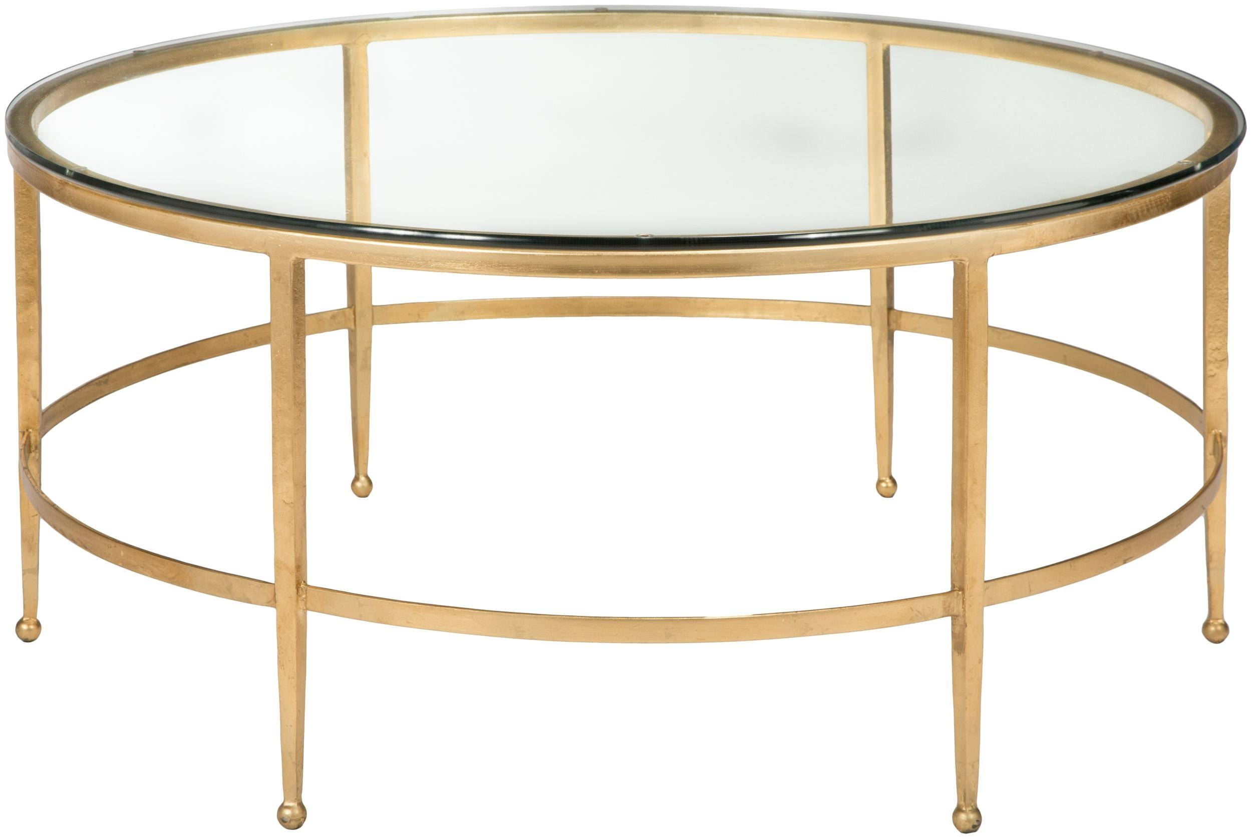 Round Gold Coffee Table - Starrkingschool throughout Madison Coffee Tables (Image 30 of 30)