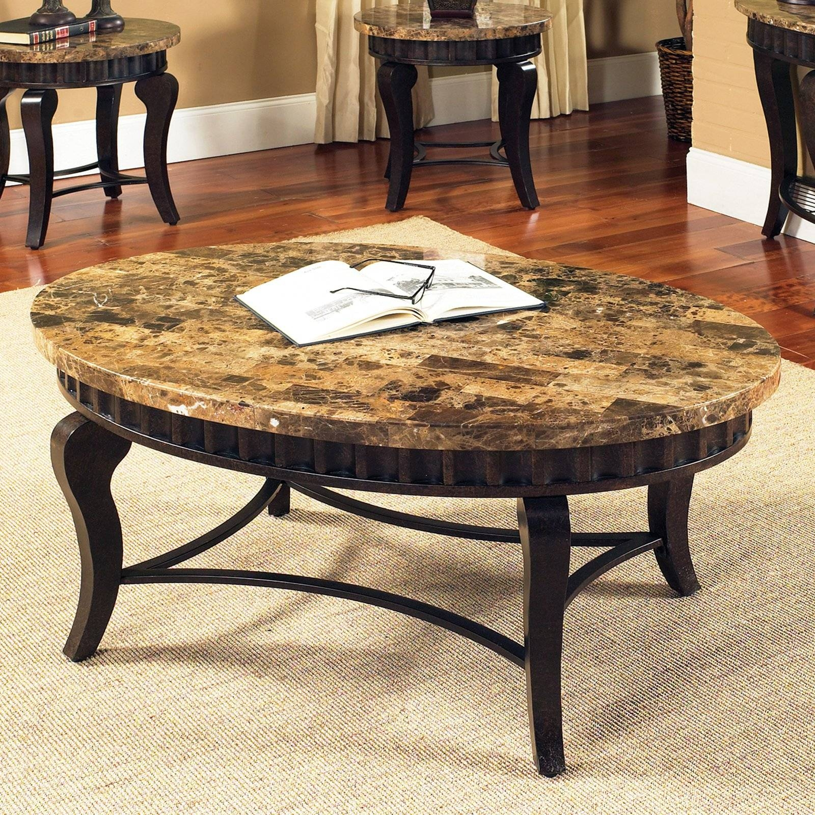 Round Marble Coffee Table Design — Coffee Table's Zone : Ideas Of regarding Marble Round Coffee Tables (Image 28 of 30)