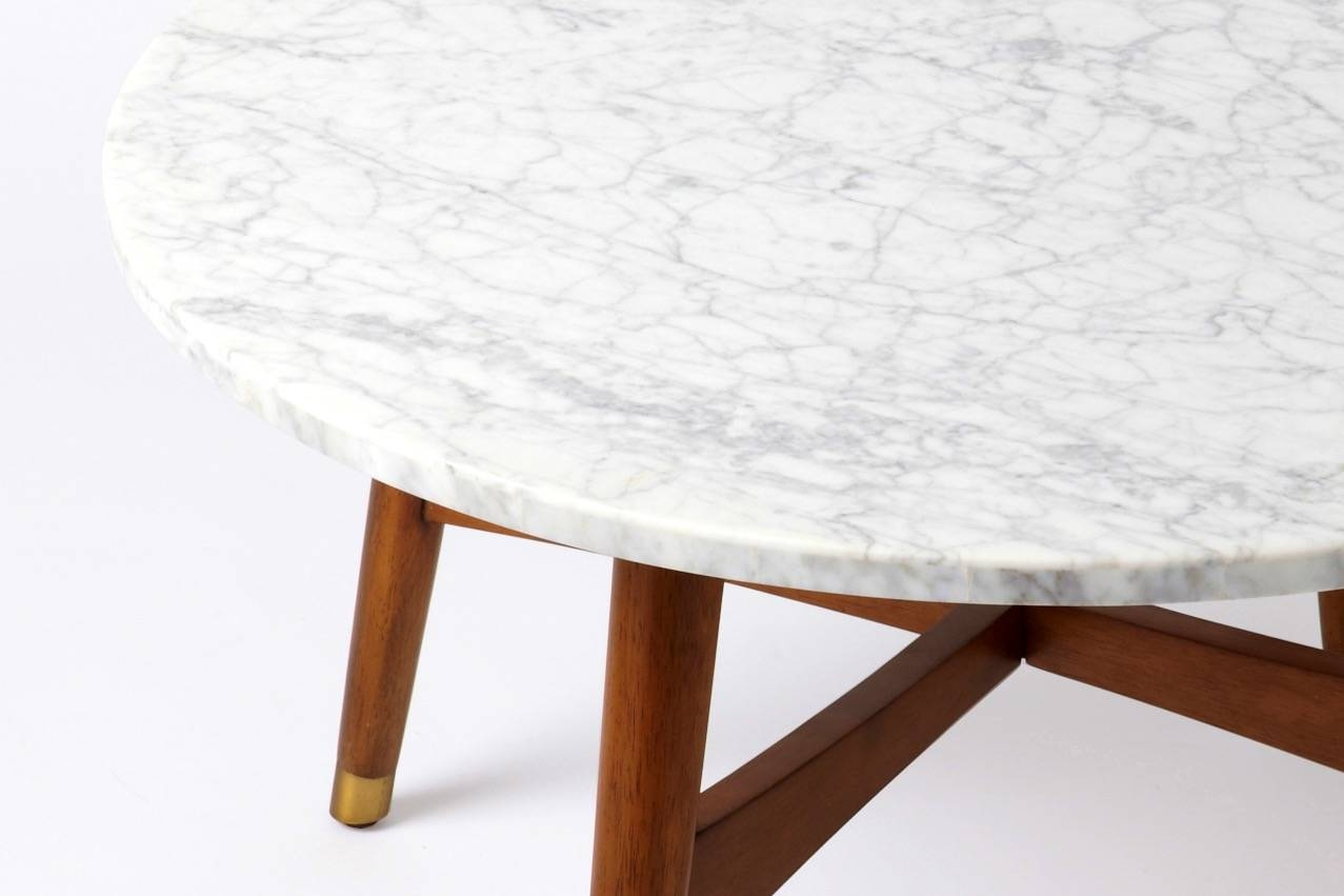 Round Marble Top Coffee Table – Round Marble Top Coffee Table regarding White Marble Coffee Tables (Image 27 of 30)