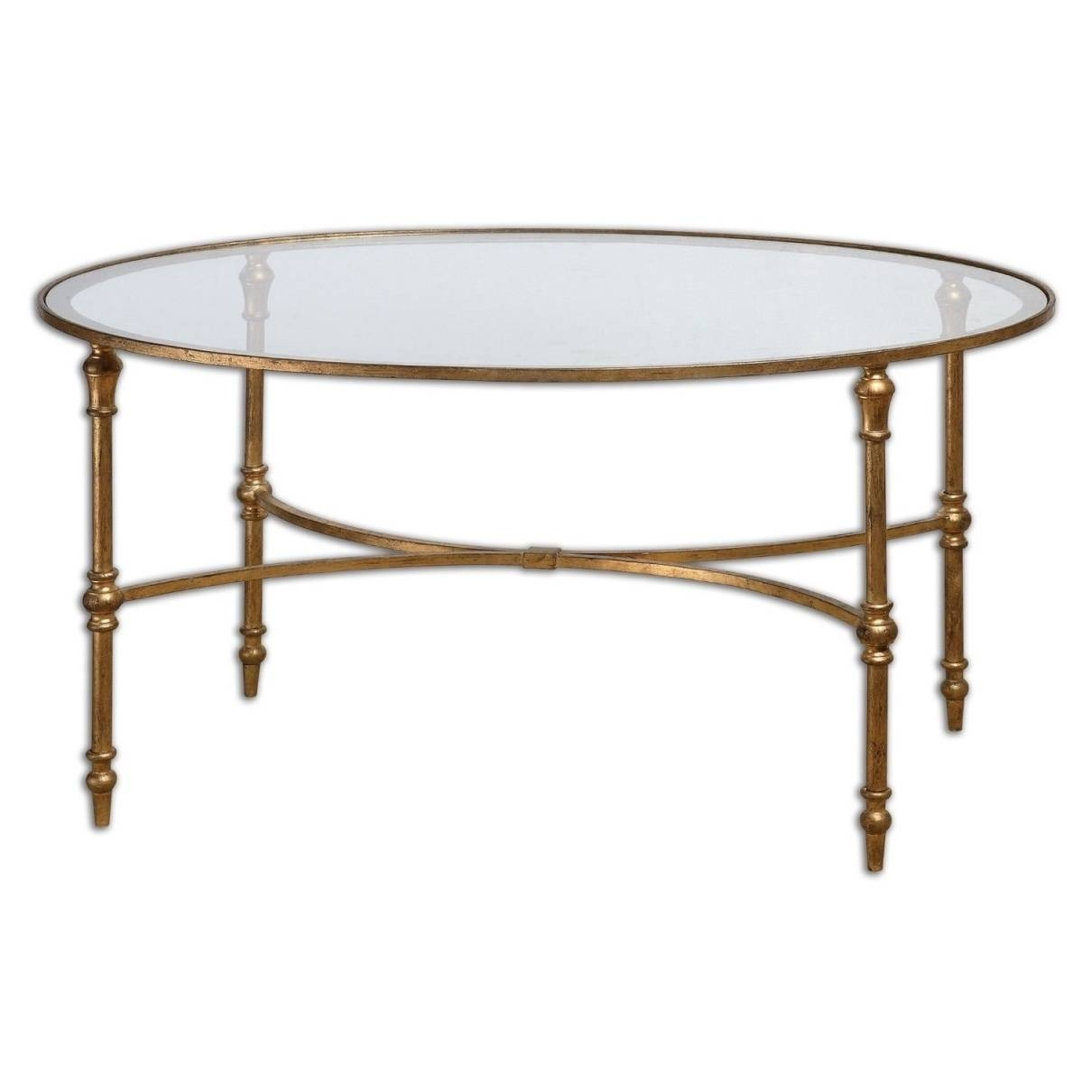 Round Metal Coffee Table Coffee – Cocinacentral.co regarding Round Steel Coffee Tables (Image 26 of 30)