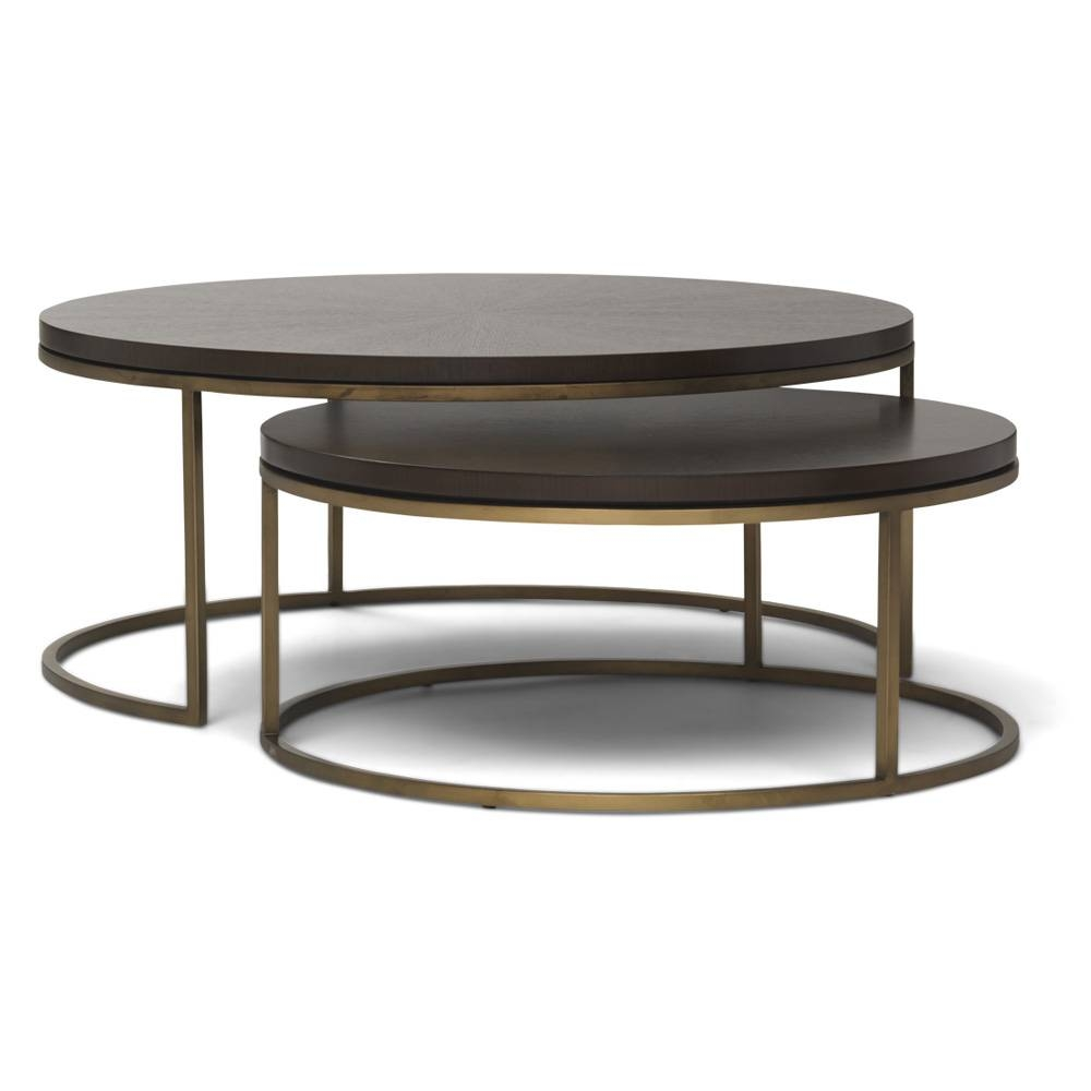 Round Metal Coffee Tables – Round Metal Tray Coffee Table, Round inside Round Tray Coffee Tables (Image 22 of 30)