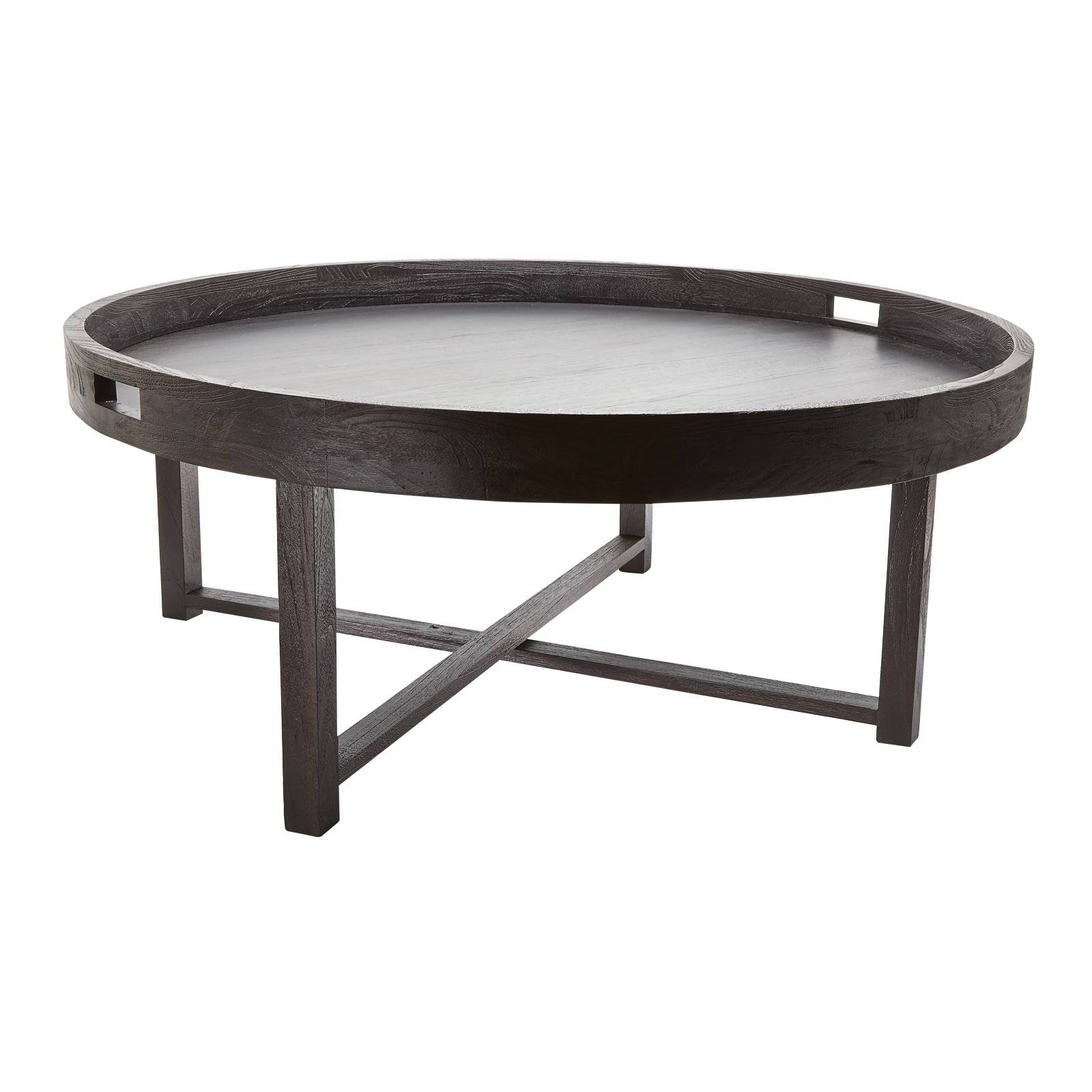 Round Metal Tray Coffee Table Rascalartsnyc