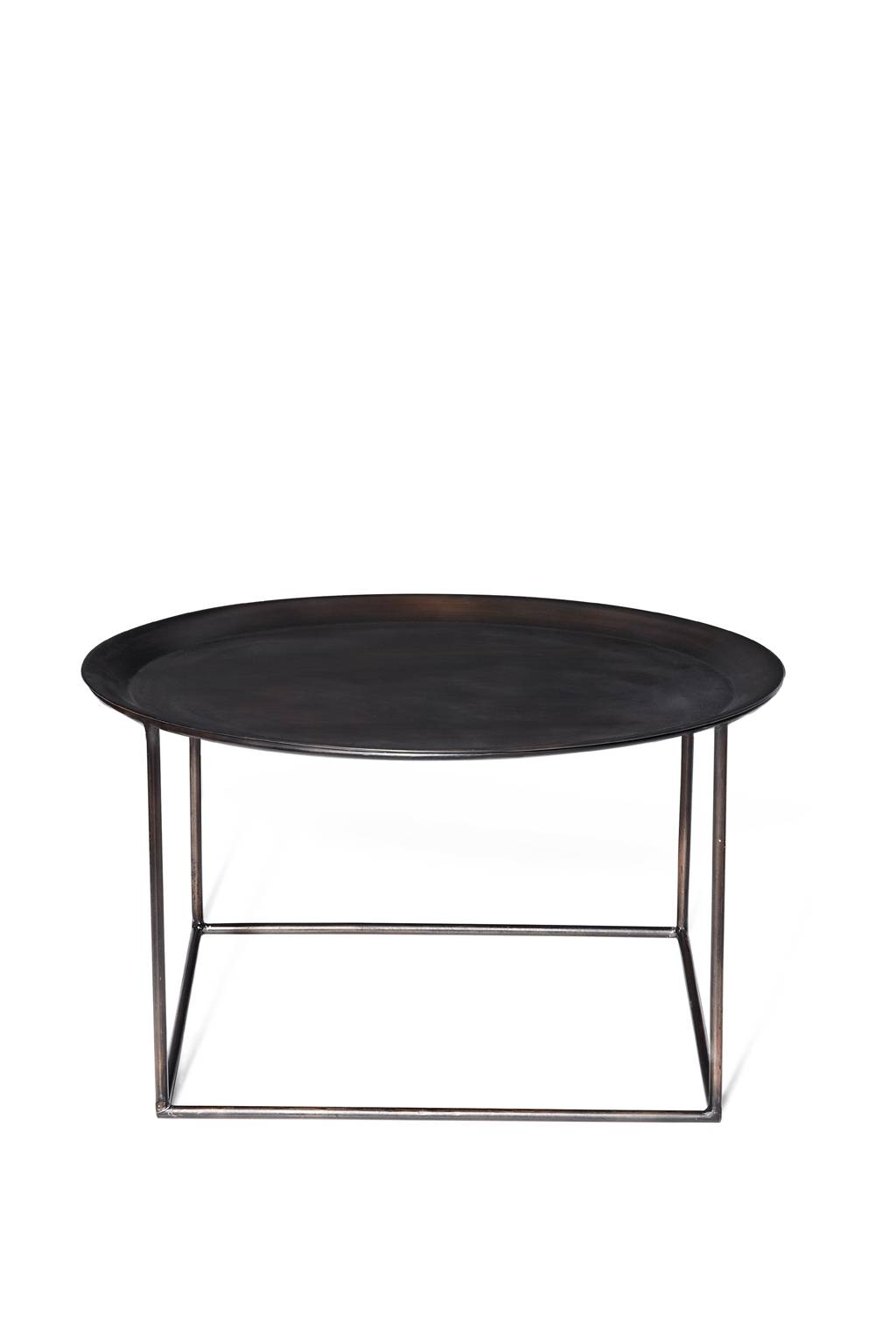 Round Metal Tray Coffee Table | Coffee Tables Decoration intended for Round Coffee Table Trays (Image 23 of 30)