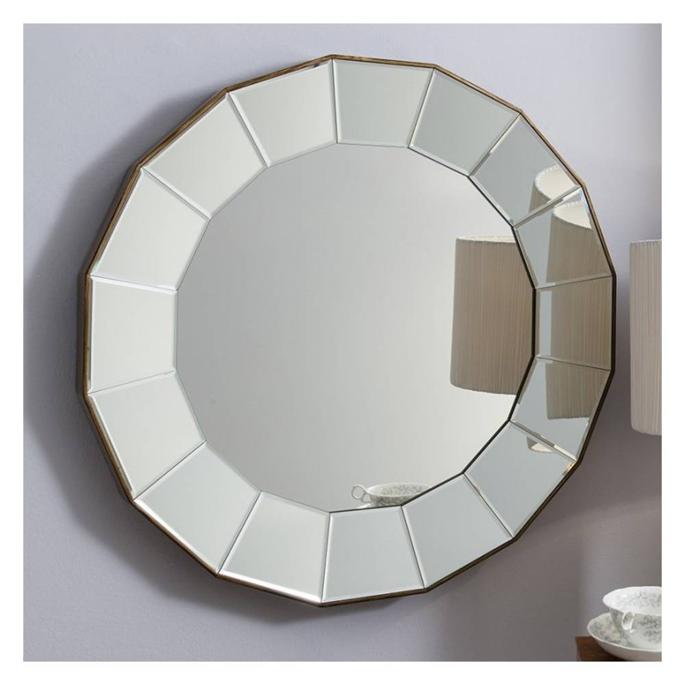 Round Mirror: Lindley Large Bevelled Mirror | Select Mirrors pertaining to Round Bevelled Mirrors (Image 20 of 25)