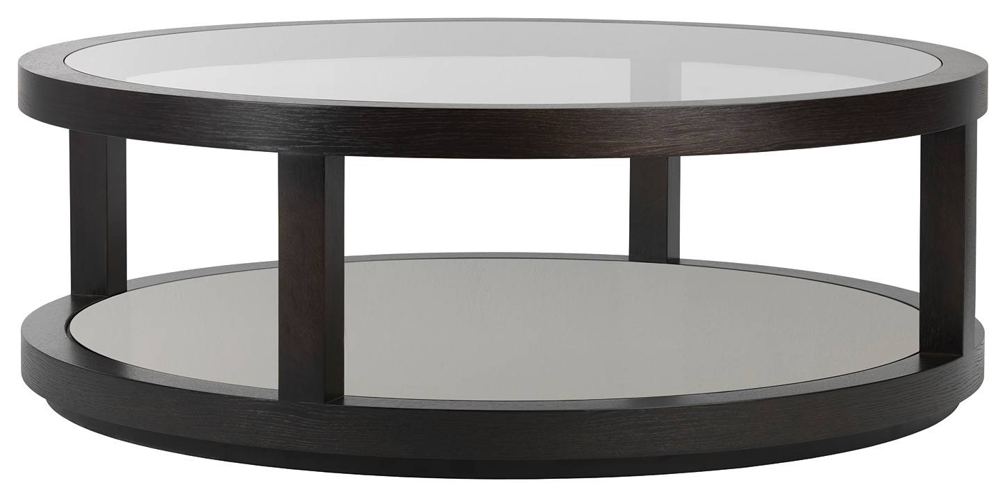 Round Mirrored Coffee Table / Coffee Tables / Thippo throughout Round Mirrored Coffee Tables (Image 23 of 30)
