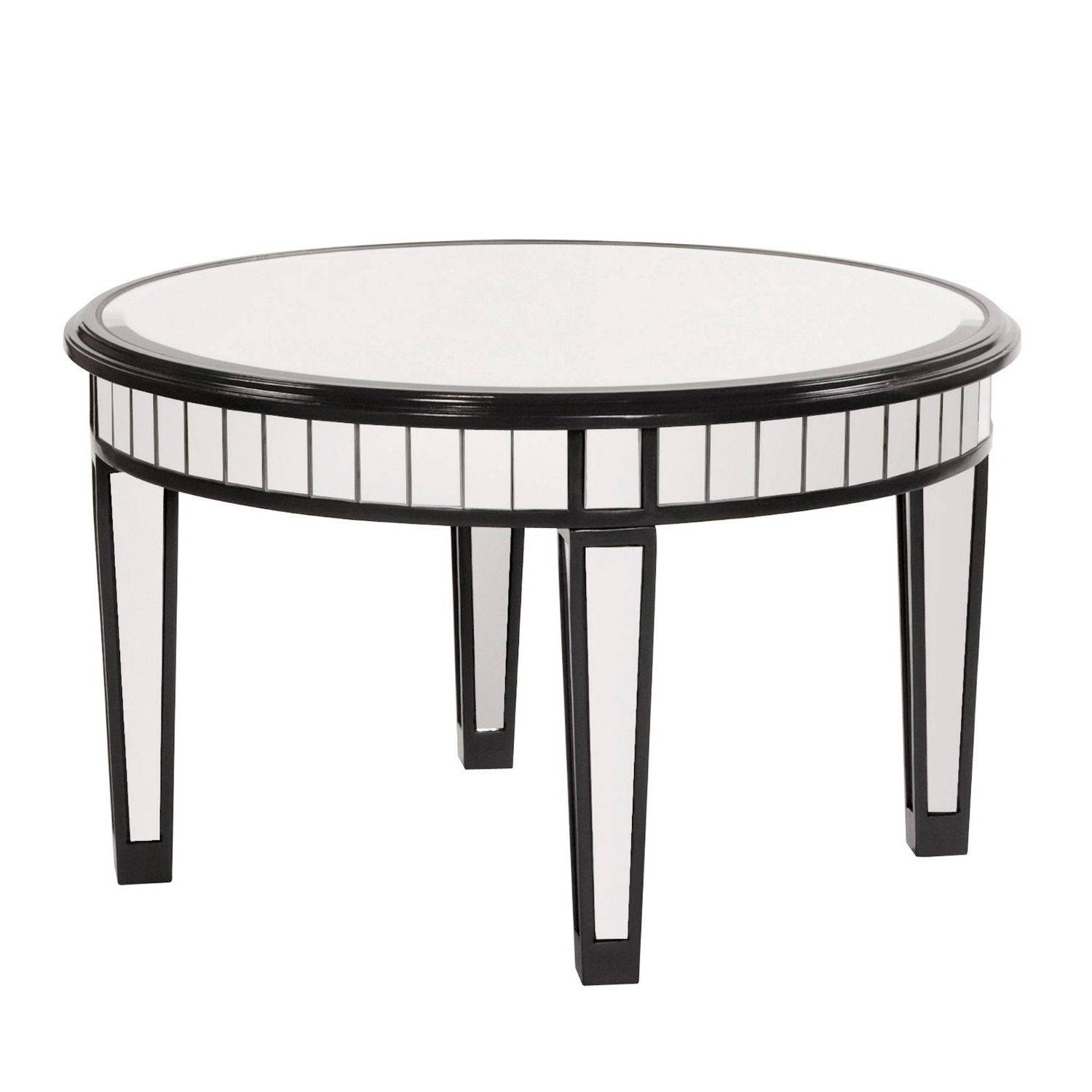30 Collection of Round Mirrored Coffee Tables