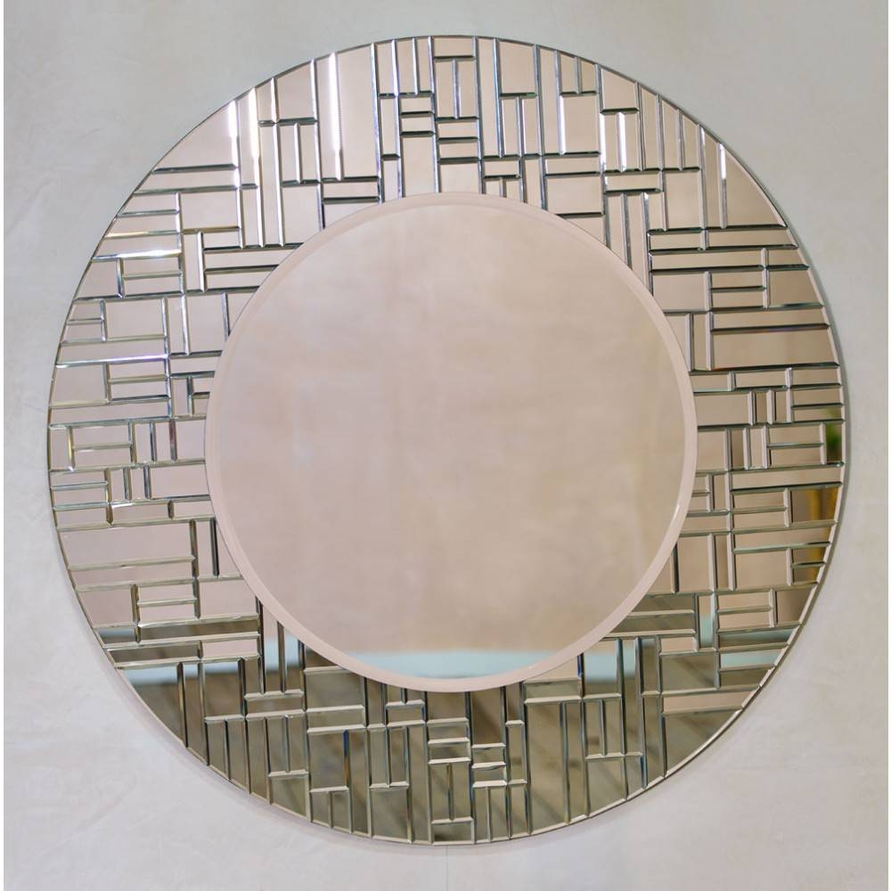 Round Mirrors within Contemporary Round Mirrors (Image 20 of 25)