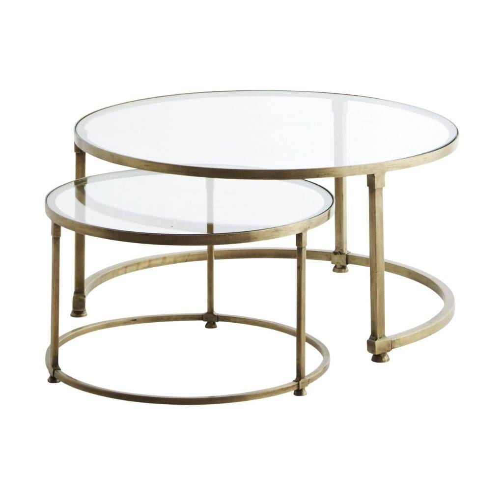Round Nesting Coffee Table - Starrkingschool in Round Glass Coffee Tables (Image 24 of 30)