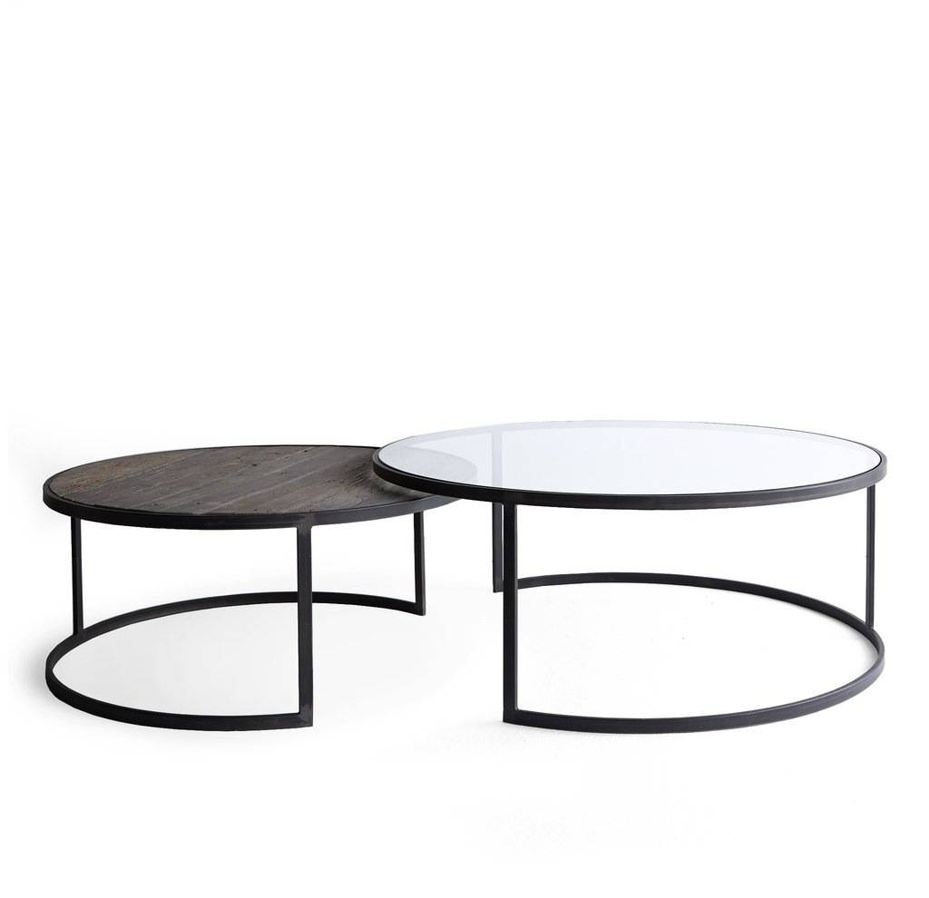 Round Nesting Coffee Tables Zone Monterey Table Po / Thippo for Monterey Coffee Tables (Image 24 of 30)