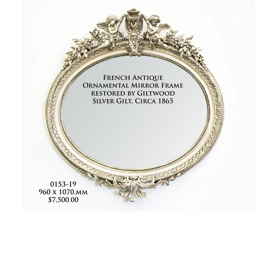 Round & Oval Mirrors Melbourne | Round Mirror Framesgiltwood with Ornamental Mirrors (Image 22 of 25)