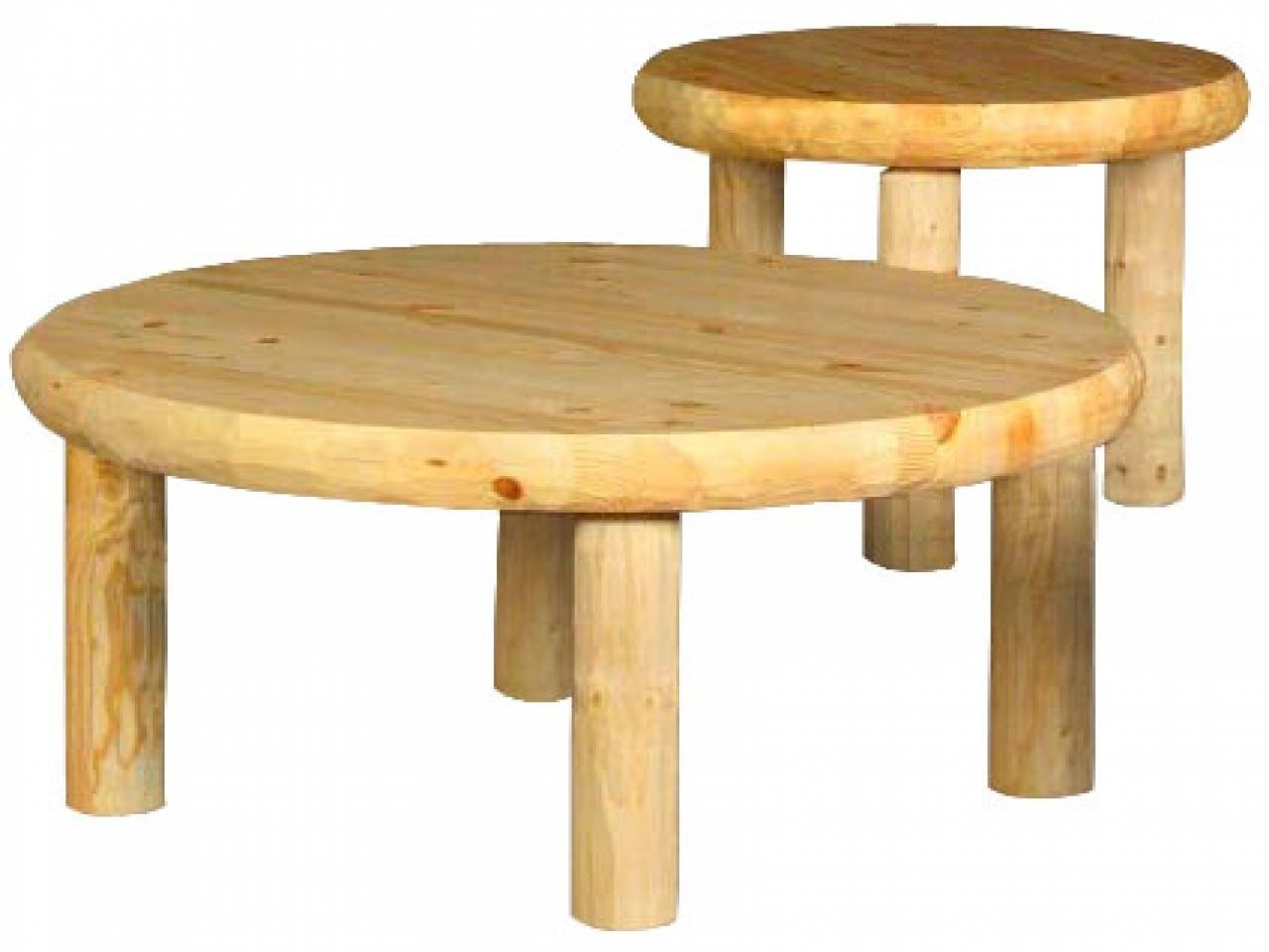 Round Pine Coffee Table - Starrkingschool intended for Round Pine Coffee Tables (Image 25 of 30)