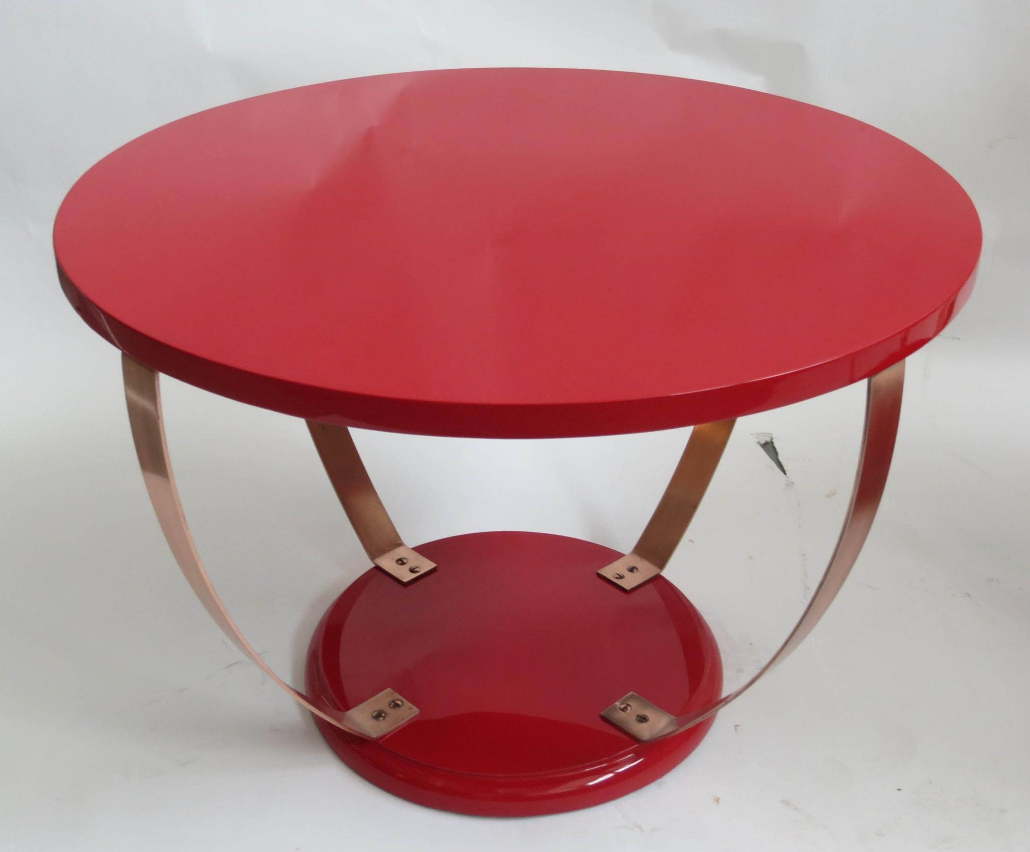 Round Red Coffee Table | Coffee Tables within Round Red Coffee Tables (Image 28 of 30)