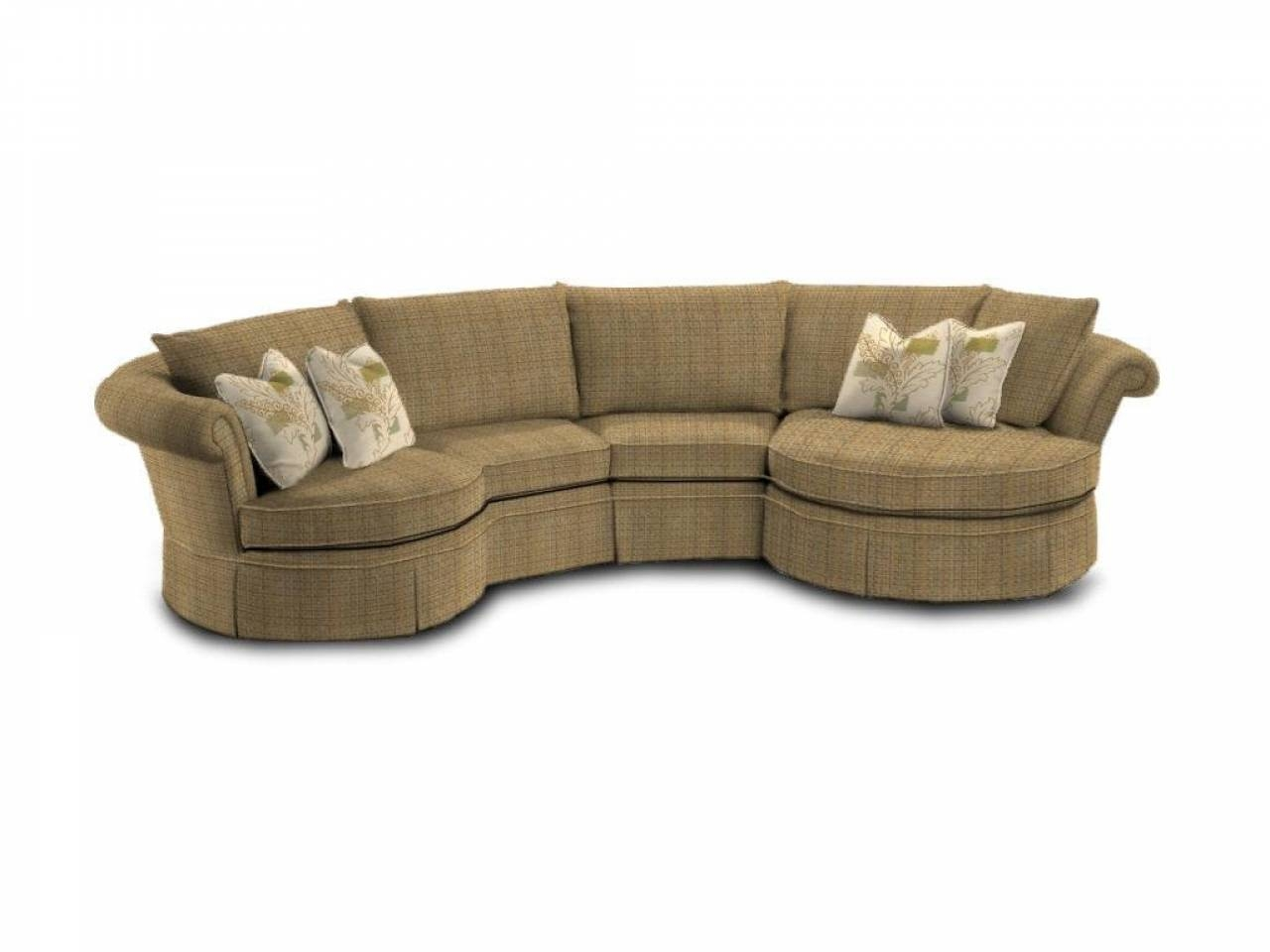 Round Sectional Sofa | Roselawnlutheran Regarding Circular Sectional Sofa (View 23 of 30)