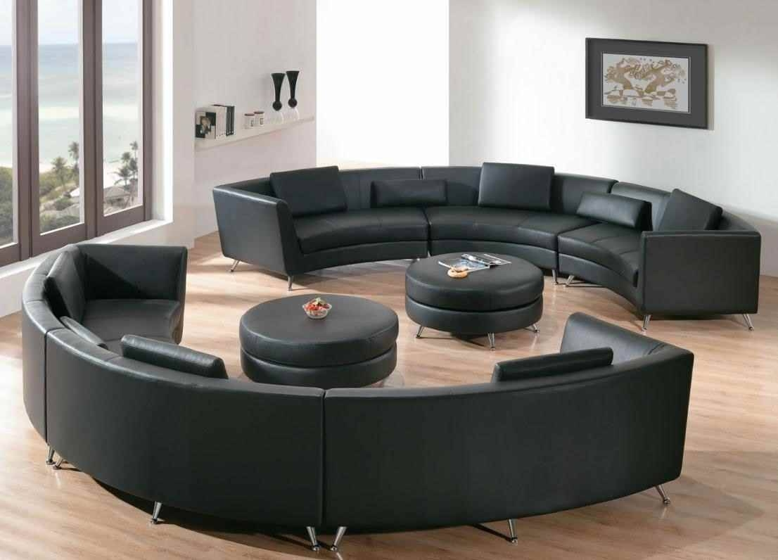 Round Sofa Chair Living Room Furniture Sets Design Ideas Inside
