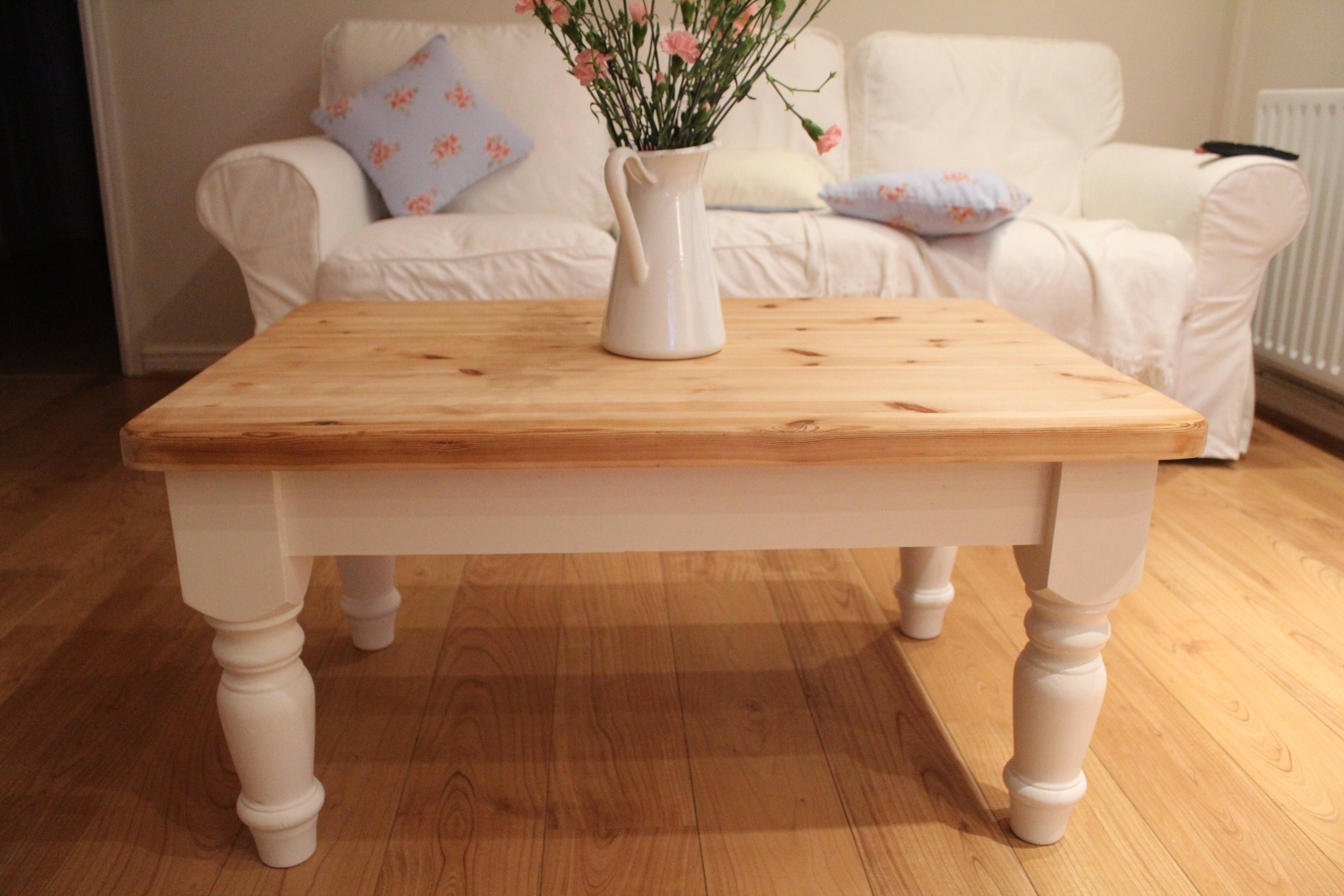 Round White Shabby Chic Coffee Table - Starrkingschool intended for Round Pine Coffee Tables (Image 27 of 30)