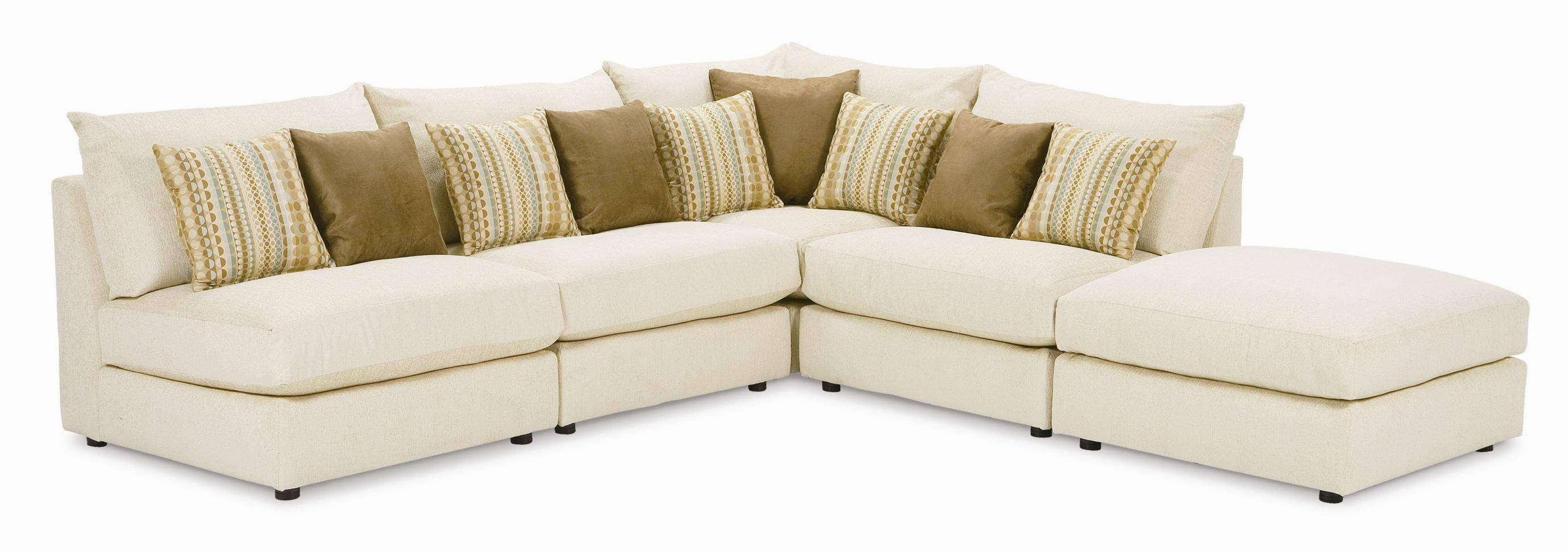 Rowe Tempo Five Piece Armless Sectional Sofa - Ahfa - Sofa with regard to Individual Piece Sectional Sofas (Image 16 of 25)