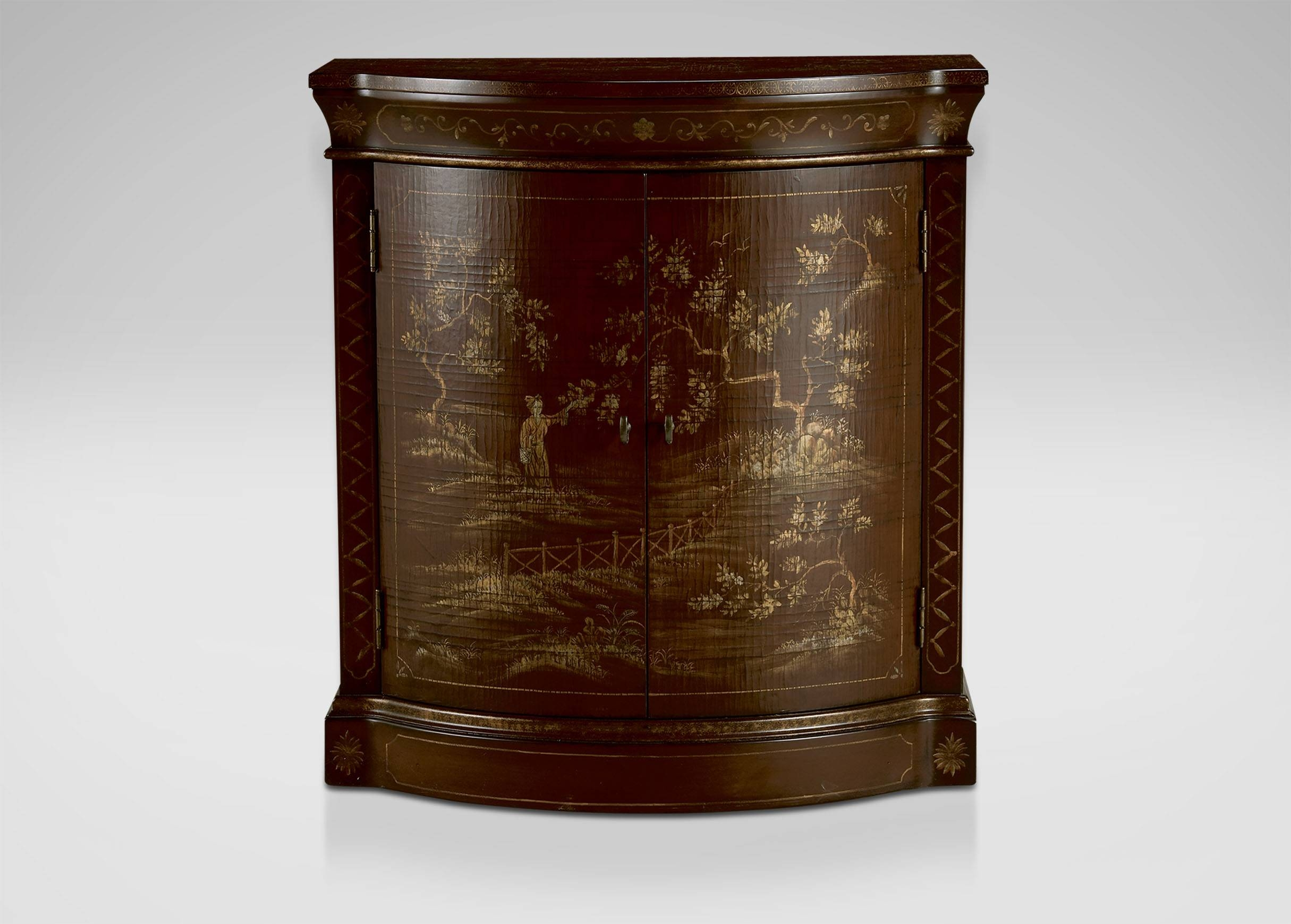 Ruby Chinoiserie Cabinet | Buffets, Sideboards & Servers intended for Chinoiserie Sideboards (Image 19 of 30)