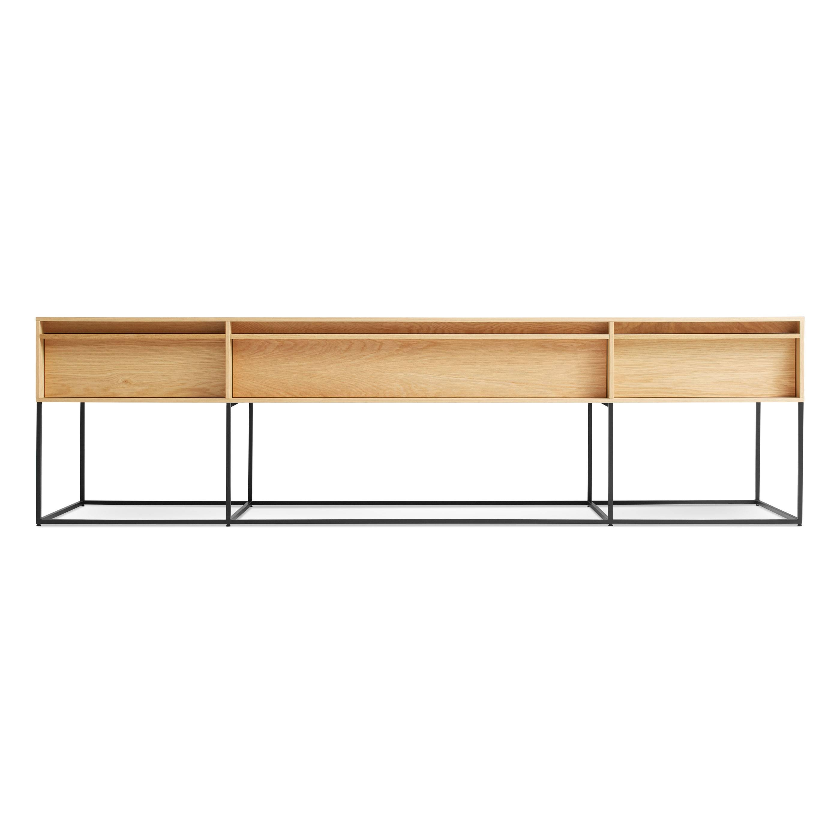 Rule Long U0026amp; Low   Long Low Console Table | Blu Dot In Low Sofa