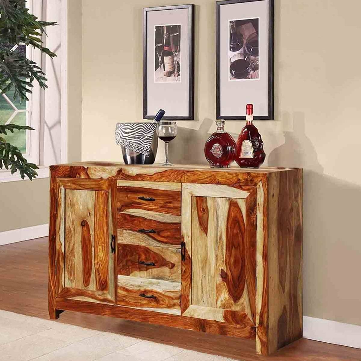Rustic Buffets Sideboards intended for Distressed Wood Sideboards (Image 22 of 30)