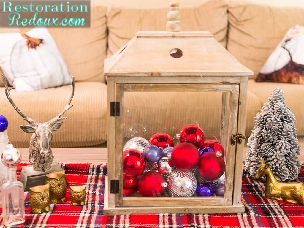 Rustic Christmas Coffee Table - Restoration Redoux in Rustic Christmas Coffee Table Decors (Image 24 of 30)
