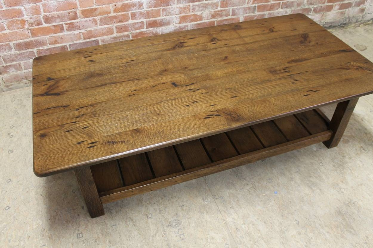 Featured Photo of Antique Rustic Coffee Tables