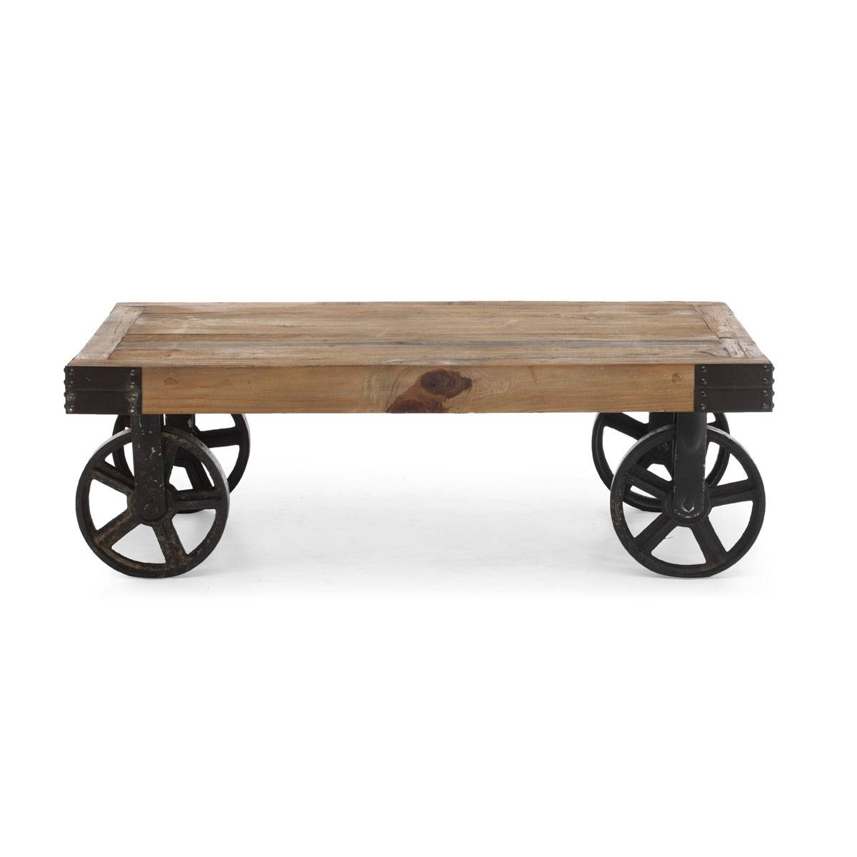Rustic Coffee Table With Wheels – Rustic Coffee Table Pinterest throughout Wheels Coffee Tables (Image 25 of 30)