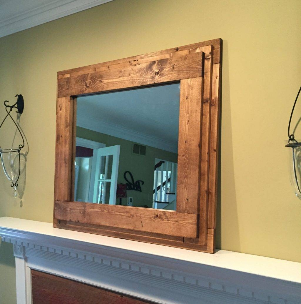 Rustic Mirrors For Bathrooms – Harpsounds.co for Mirrors for Mantle (Image 25 of 25)