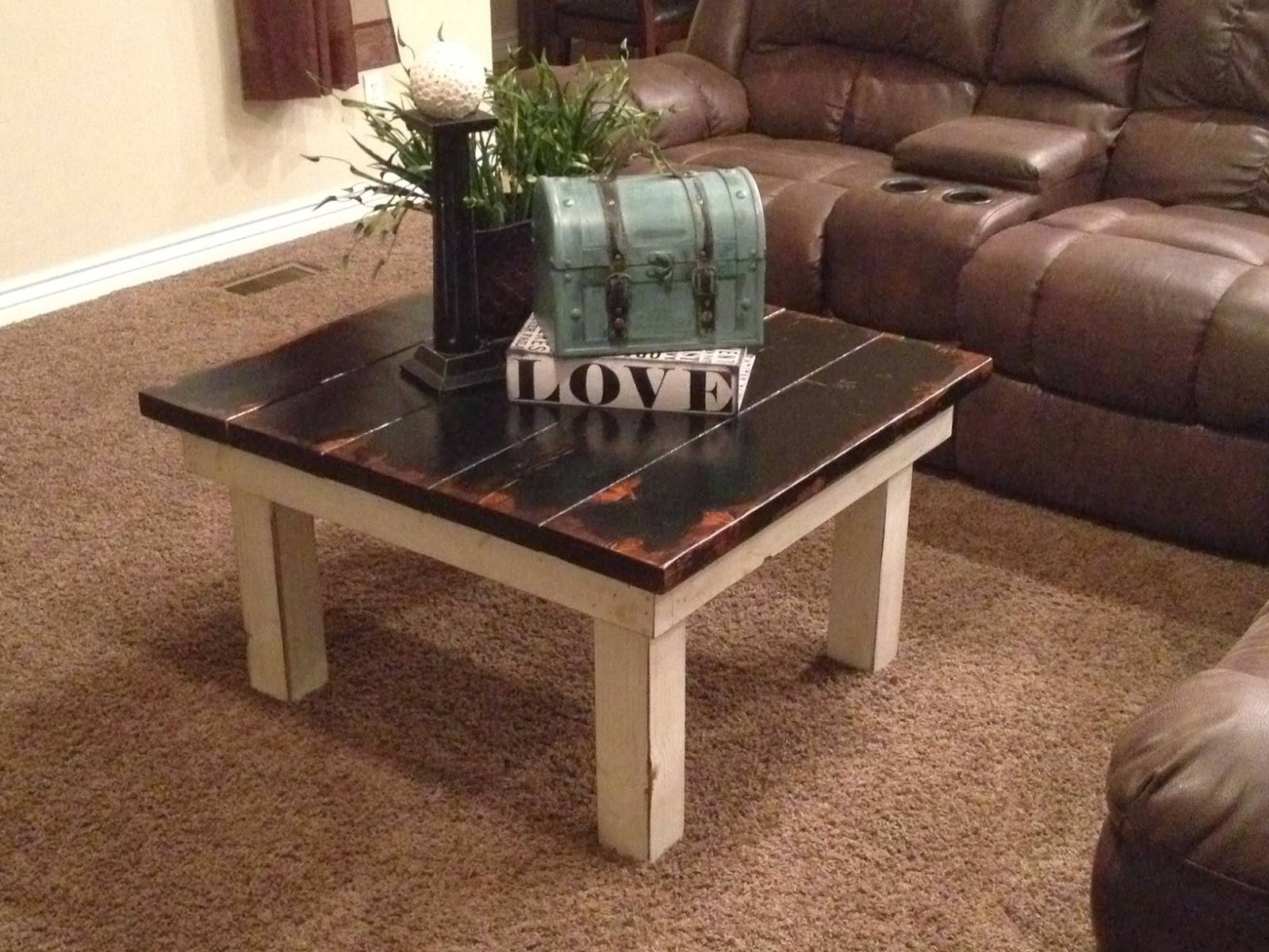 Rustic Nail : Chunky Coffee Table $ 160.00 regarding Chunky Coffee Tables (Image 19 of 30)