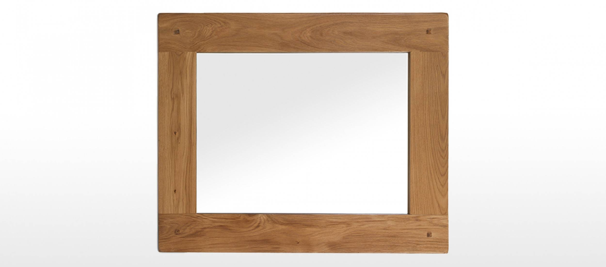 Rustic Oak Mirror | Quercus Living in Rustic Oak Mirrors (Image 20 of 25)