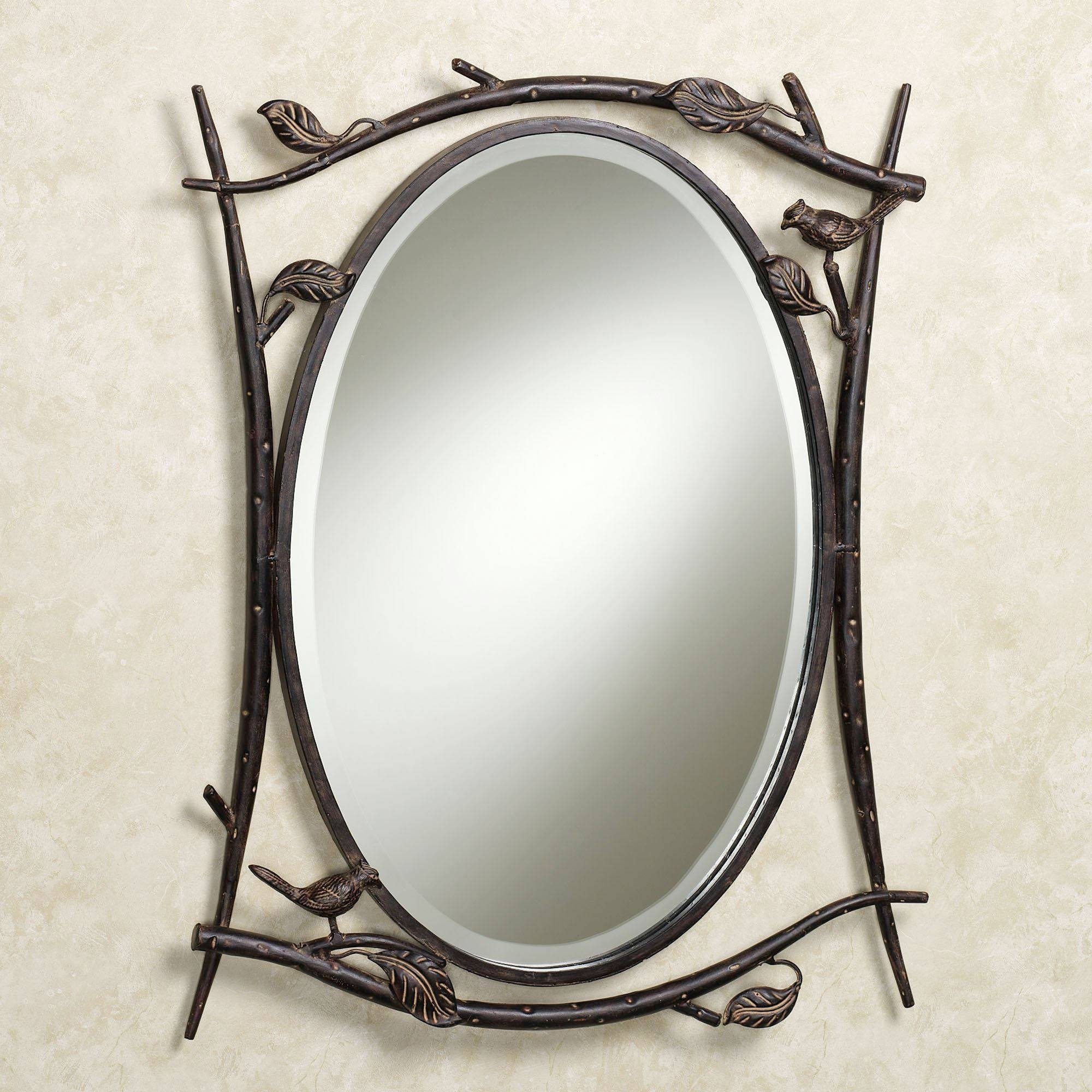 Rustic Patio Designs, Shabby Chic Wall Mirrors Rustic Essence Wall in Oval Shabby Chic Mirrors (Image 16 of 25)