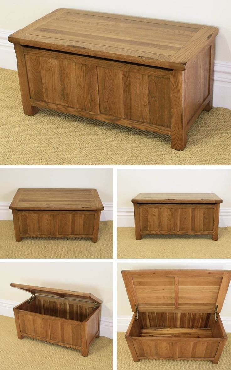 Rustic Wooden Chest,trunk, Blanket Box ,vintage Coffee Table inside Blanket Box Coffee Tables (Image 23 of 30)