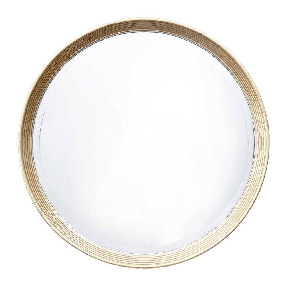 Rv Astley Lana Antique Brass Finish Round Mirror | Houseology pertaining to Antique Round Mirrors (Image 23 of 25)