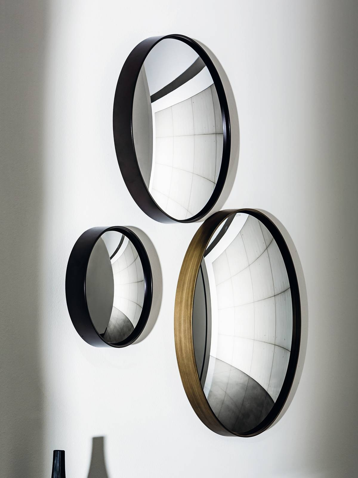 Sail - Decorative Convex Mirror - Small Unique Wall Mounted Mirror. intended for Round Convex Mirrors (Image 19 of 25)