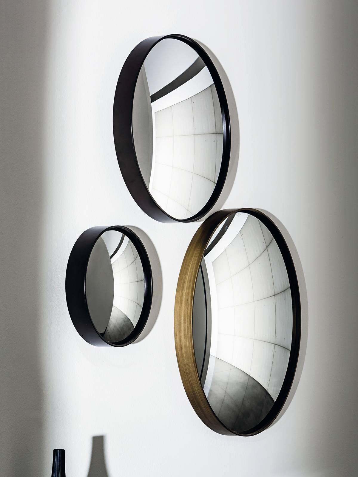 Sail - Decorative Convex Mirror - Small Unique Wall Mounted Mirror. pertaining to Small Convex Mirrors (Image 19 of 25)