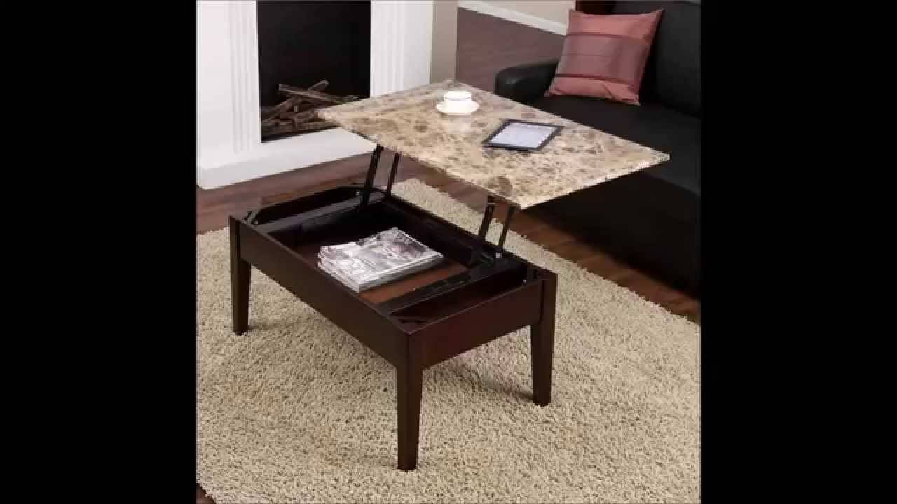 Sale Coffee Table Dorel Asia Faux Marble Lift Top Special Price Within Opens Up Coffee Tables (View 25 of 30)