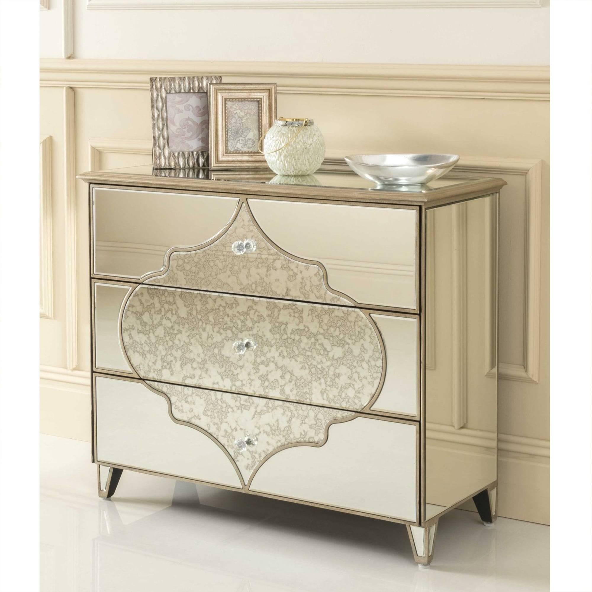 Sassari Mirrored Chest Of Drawers | Venetian Furniture for Venetian Mirrored Chest of Drawers (Image 17 of 25)