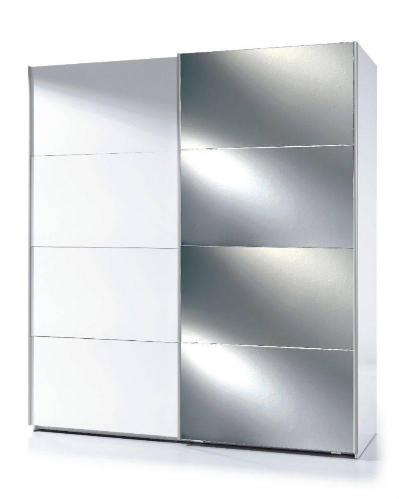 Savona Sliding Door Wardrobe.white Gloss With 1 Mirrored Door.this with White Gloss Sliding Wardrobes (Image 13 of 15)