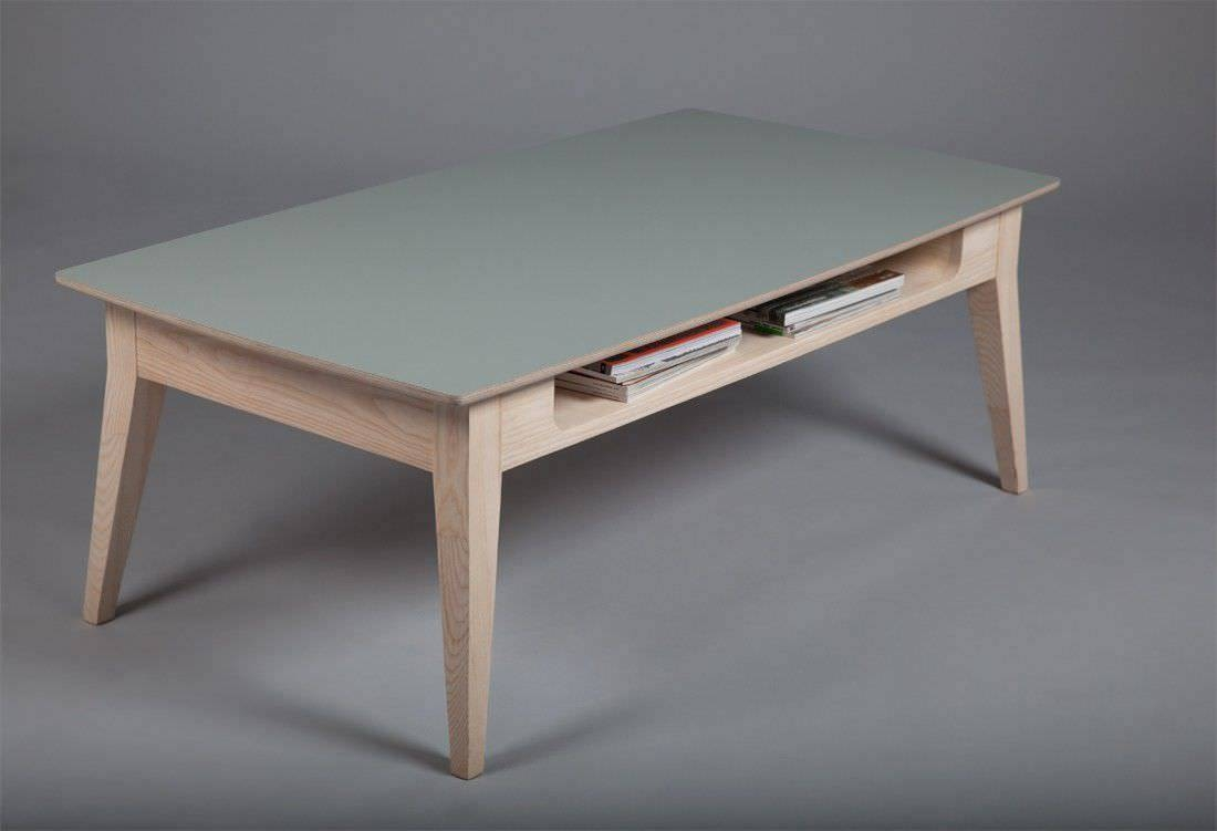 Scandinavian Design Coffee Table / Wooden / Rectangular Within Low Height Coffee Tables (View 21 of 30)