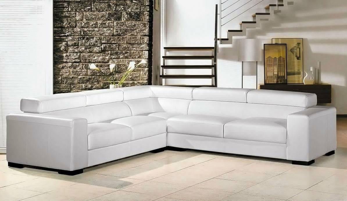 Sectional Couches On Sale. Black Bonded Leather Modern Sectional in White Sectional Sofa for Sale (Image 18 of 30)