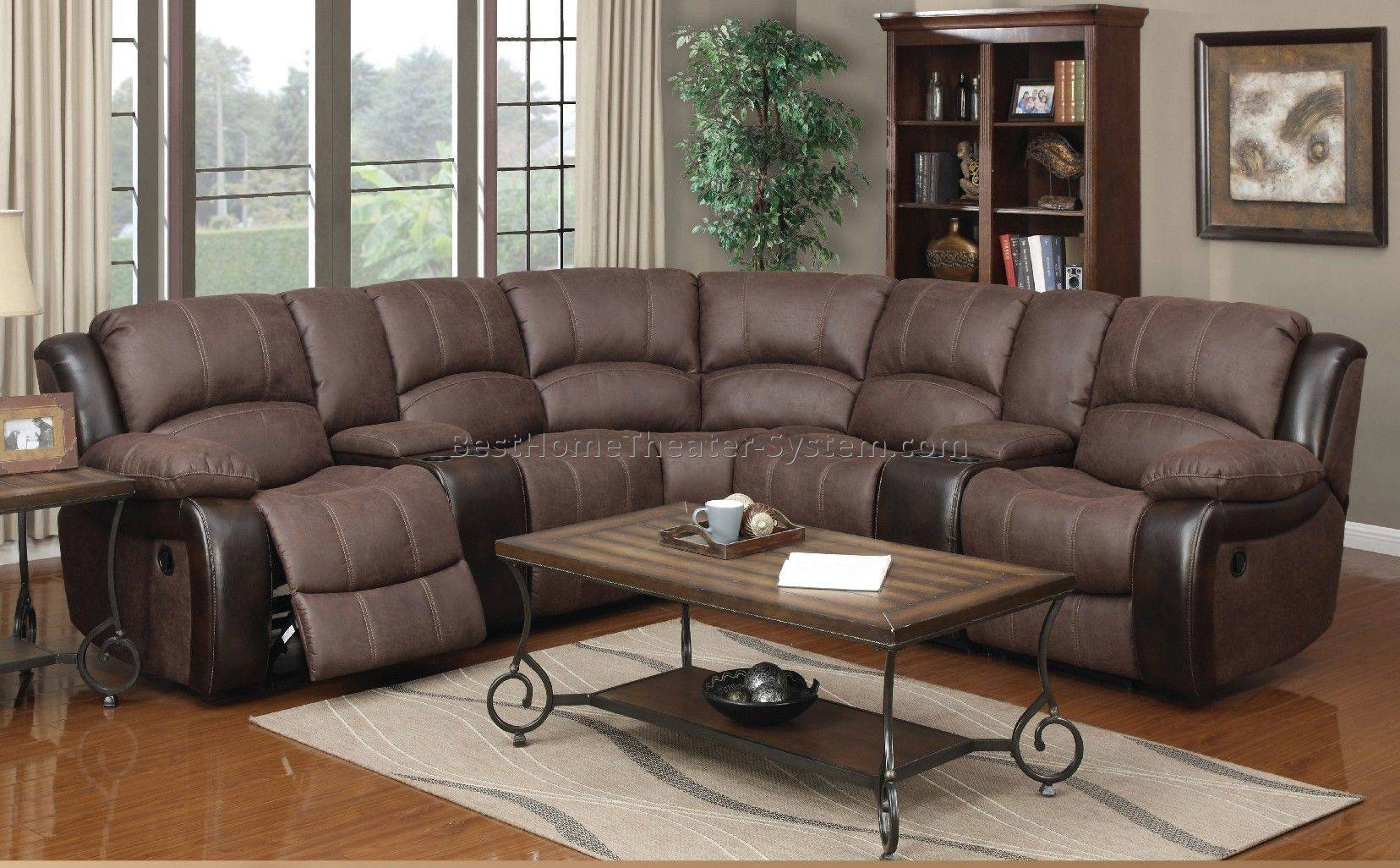 Sectional Home Theater Seating 5 | Best Home Theater Systems regarding Theatre Sectional Sofas (Image 22 of 30)