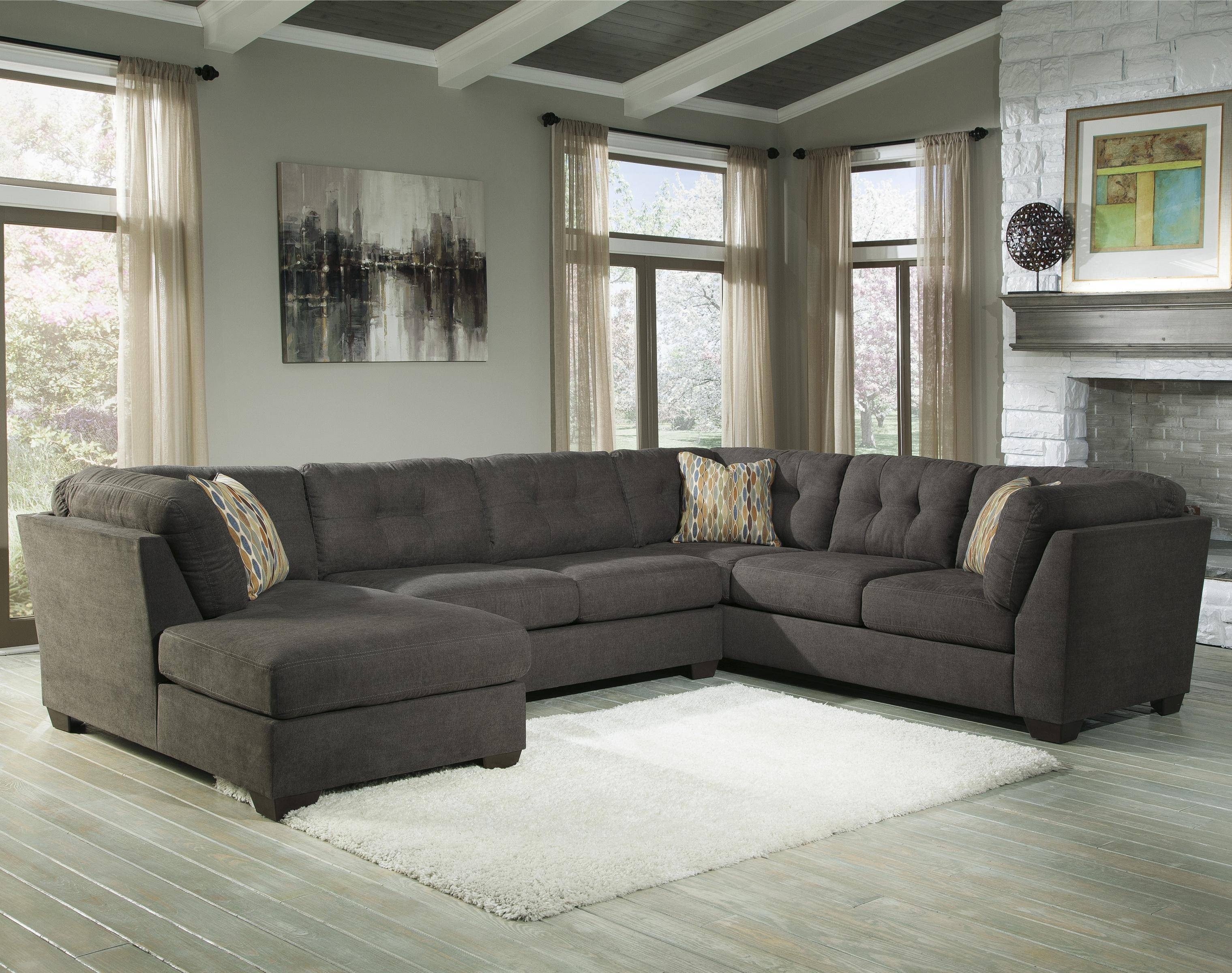 Sectional Sleeper Sofa Extraordinary Home Design Inside 3 Piece Sectional Sleeper Sofa (View 22 of 30)