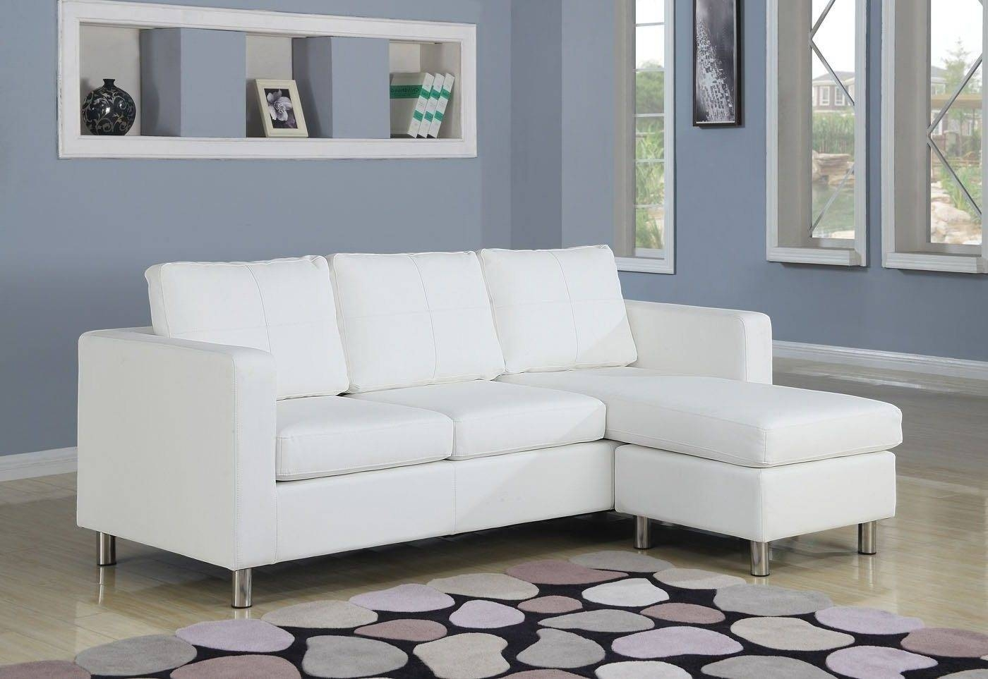 Sectional Sleeper Sofas For Small Spaces - Video And Photos for Tiny Sofas (Image 9 of 30)