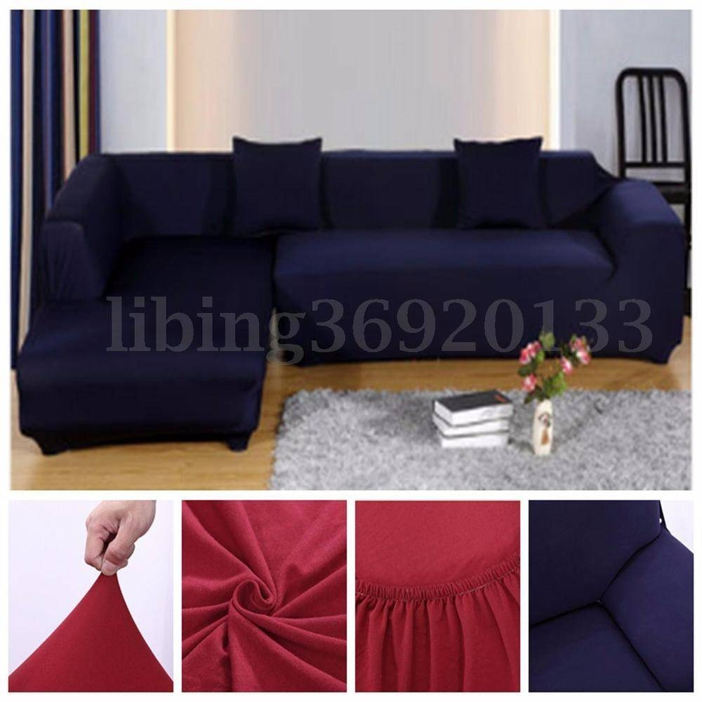 Sectional Slipcovers | Ebay with Sectional Sofa Covers (Image 17 of 25)