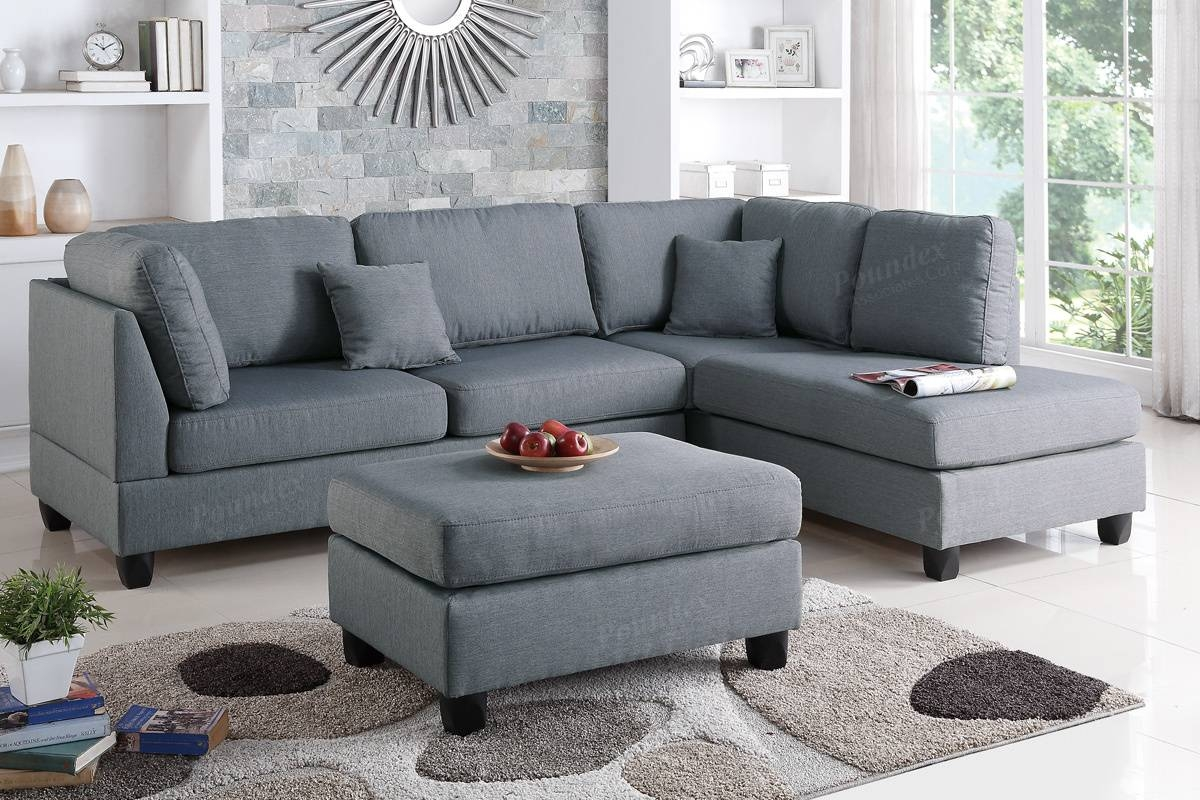 Sectional Sofa W/ Ottoman (F7606) | Bb's Furniture Store pertaining to Sofa With Chaise And Ottoman (Image 24 of 30)