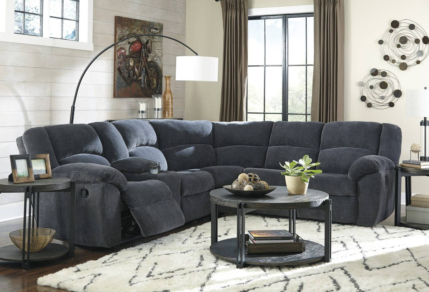 Sectional Sofas – Living Room Seating – Hom Furniture pertaining to Extra Wide Sectional Sofas (Image 27 of 30)