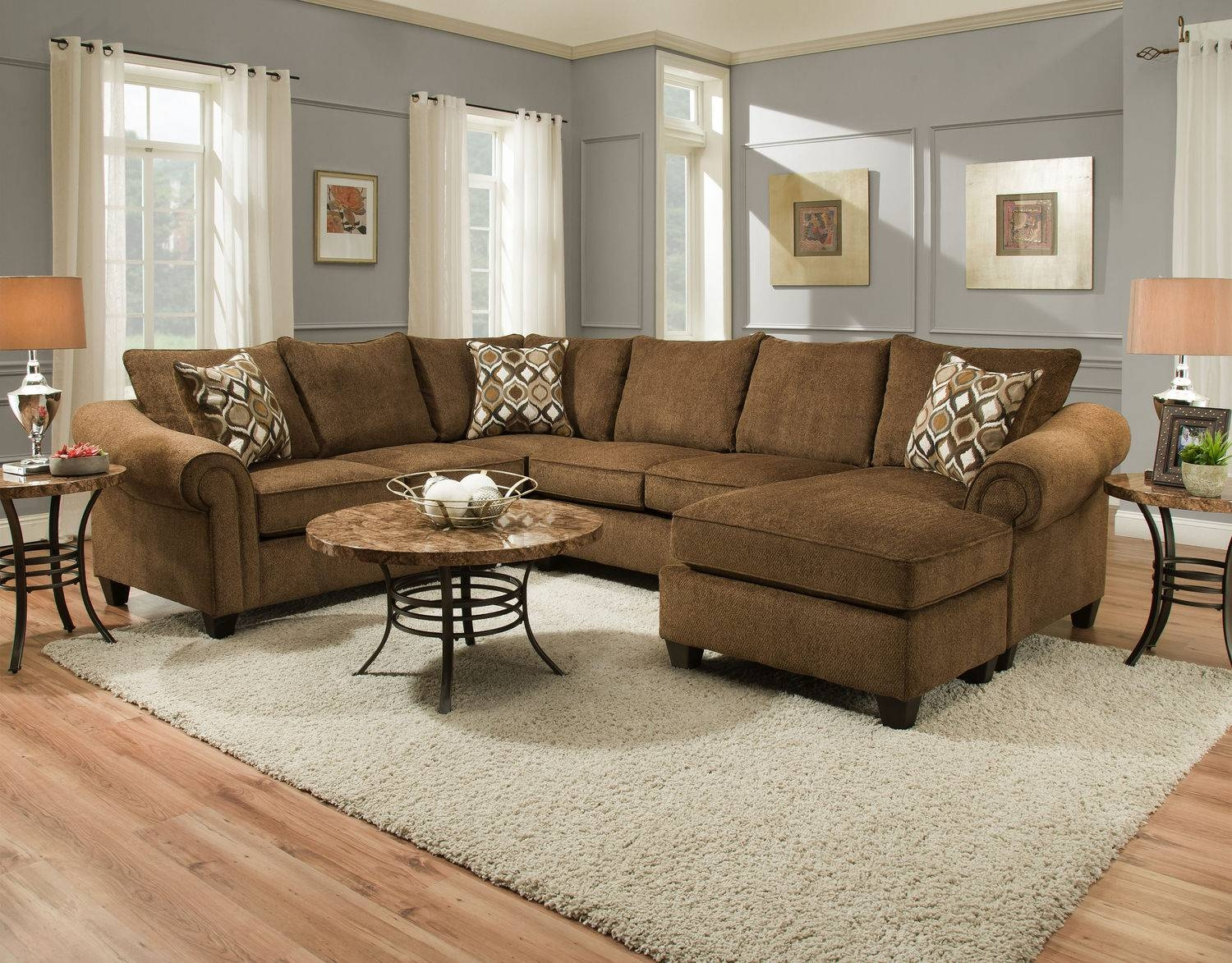 Sectional Sofas – Living Room Seating – Hom Furniture with regard to 10 Piece Sectional Sofa (Image 23 of 30)
